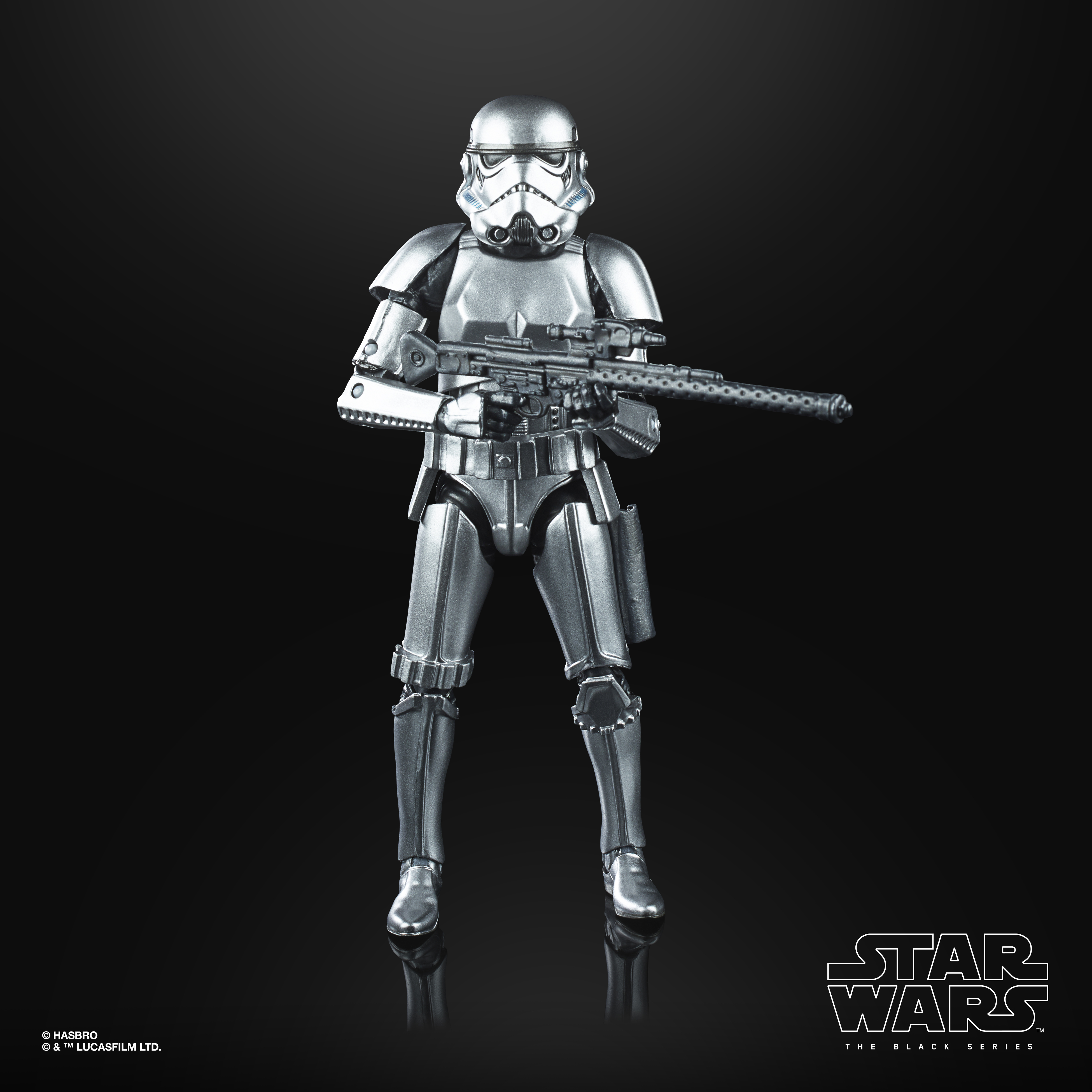 """Star Wars The Black Series Stormtrooper Carbonized Action Figure 6"""" Reihe E9923 5010993734474"""