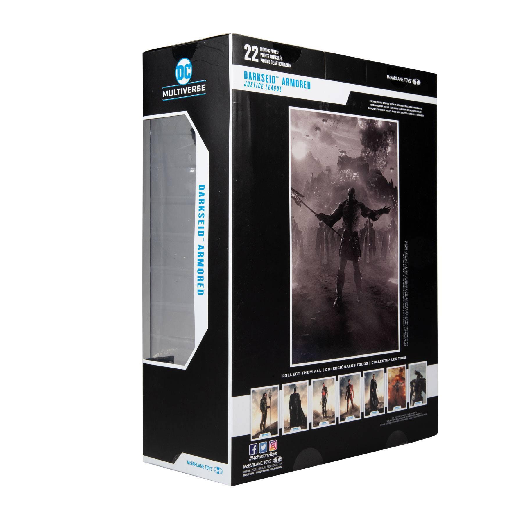 DC Justice League Movie Actionfigur Darkseid Armored Justice League 30 cm MCF15089 787926150896