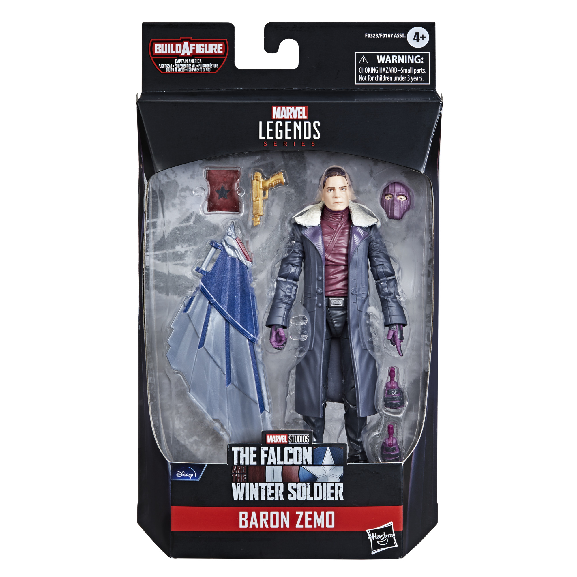 Marvel Legends Series Avengers Baron Zemo Build a Figure F0323 5010993791125