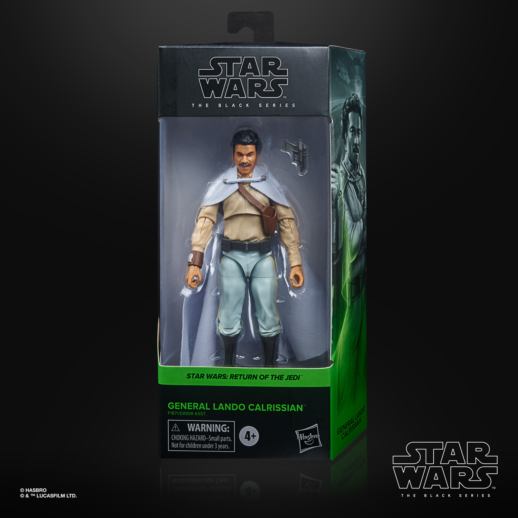 Star Wars The Black Series General Lando Calrissian Figure 15 cm F1871 5010993828036