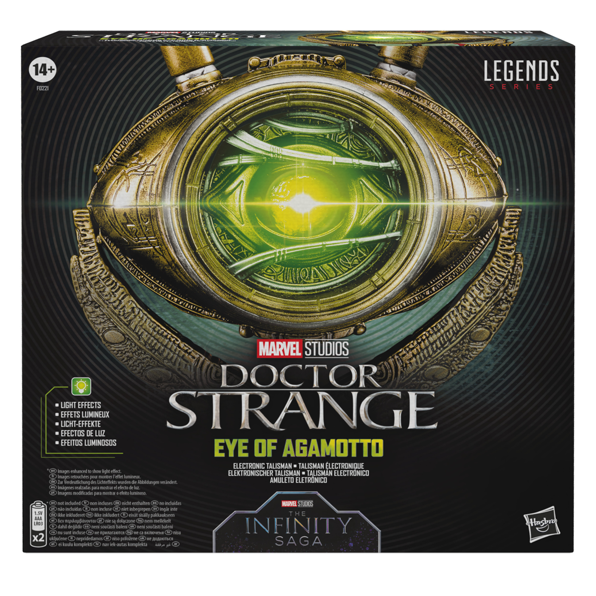 Hasbro Marvel Legends Doctor Strange Eye of Agamotto F02215L00 5010993820955