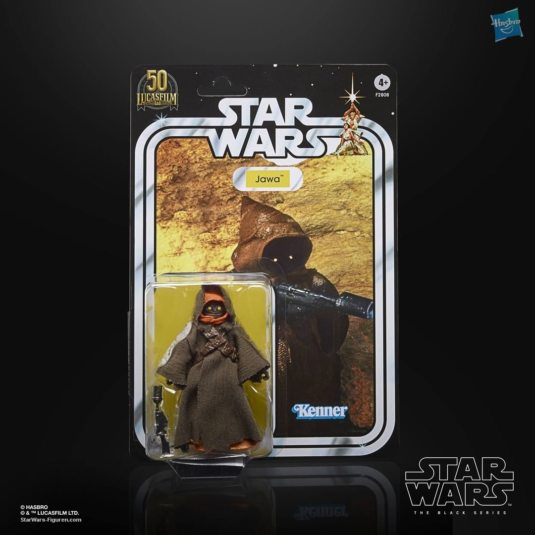 Star Wars The Black Series Jawa 6-Inch-Scale Lucasfilm 50th Anniversary   (im Shipper) :-)  F28085S00 05010993869664