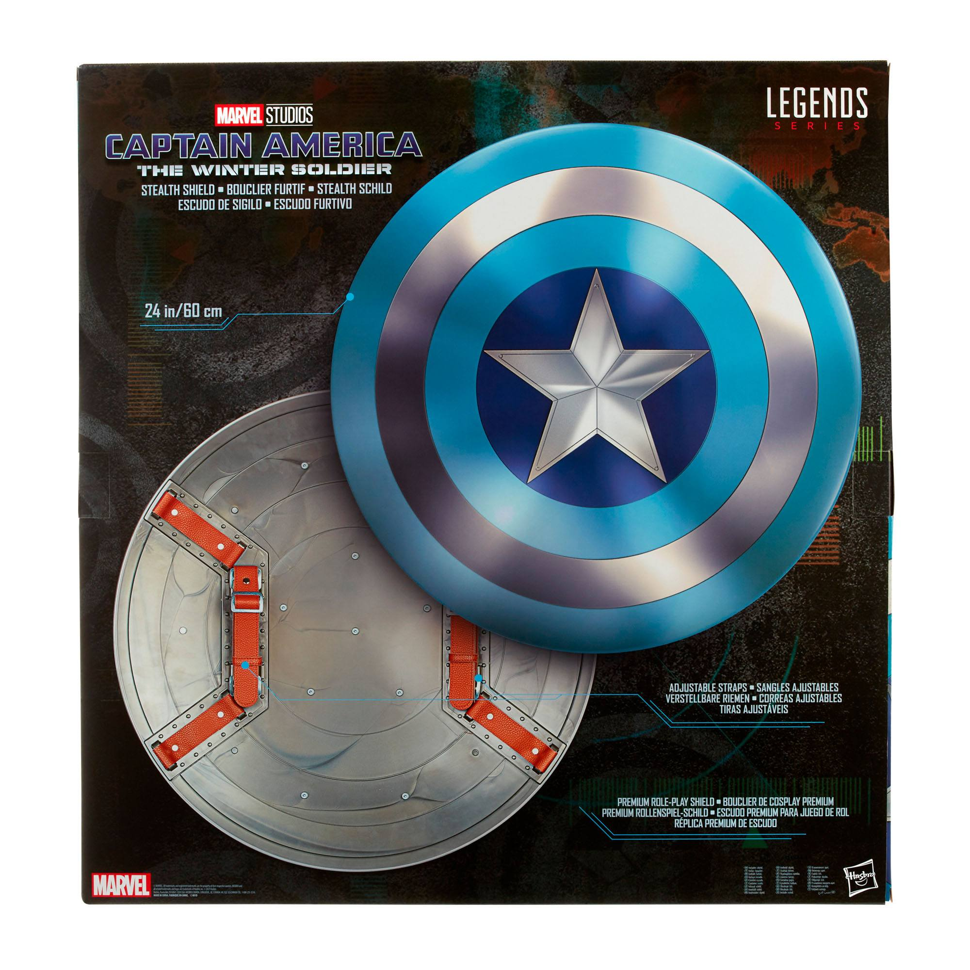 The Infinity Saga - The Return of the First Avenger Marvel Legends Series Stealth Schild 60 cm HASF1125 5010993842018