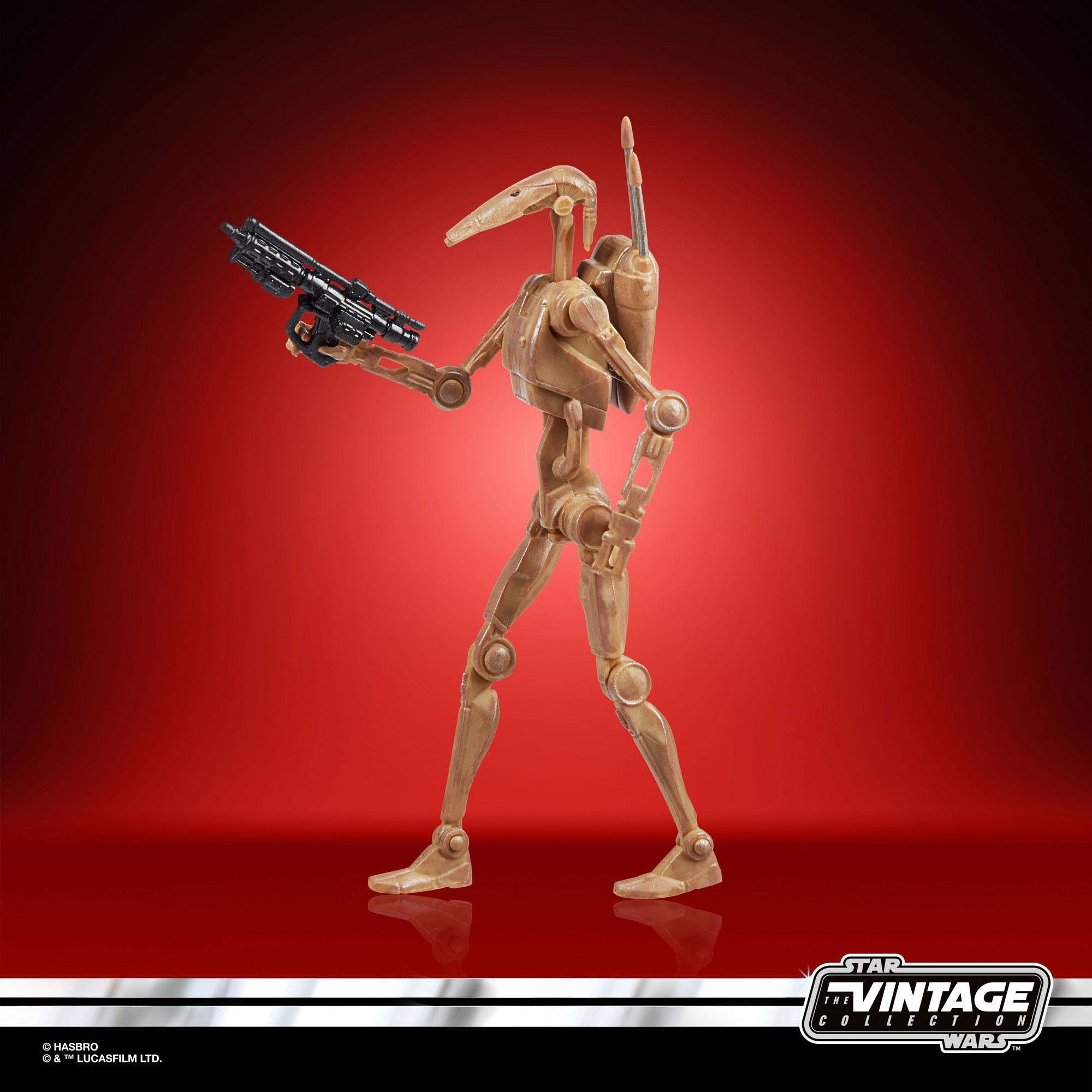 Star Wars The Vintage Collection Battle Droid F1886 5010993813322