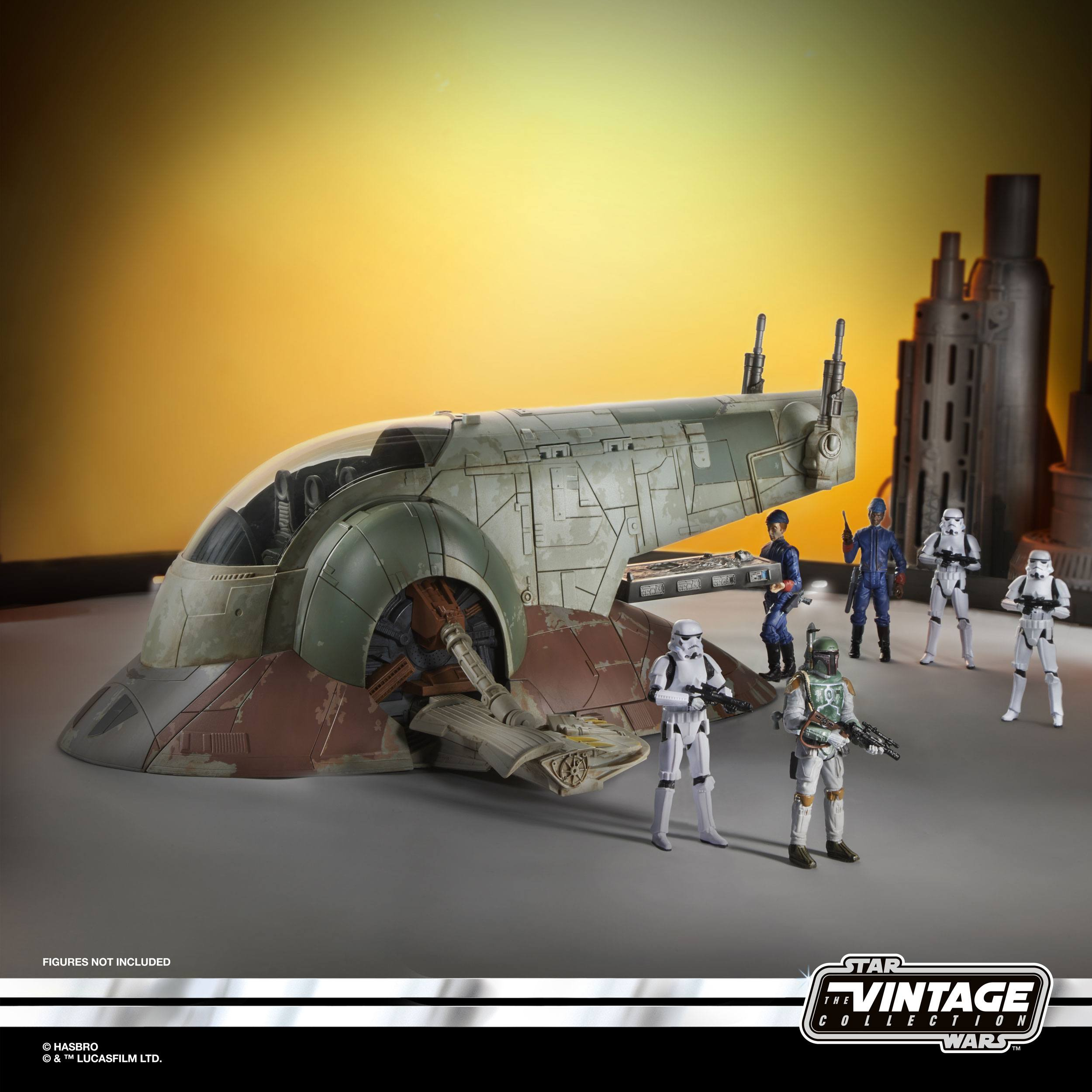Star Wars The Vintage Collection Boba Fetts Slave I E96475L00 5010993708529