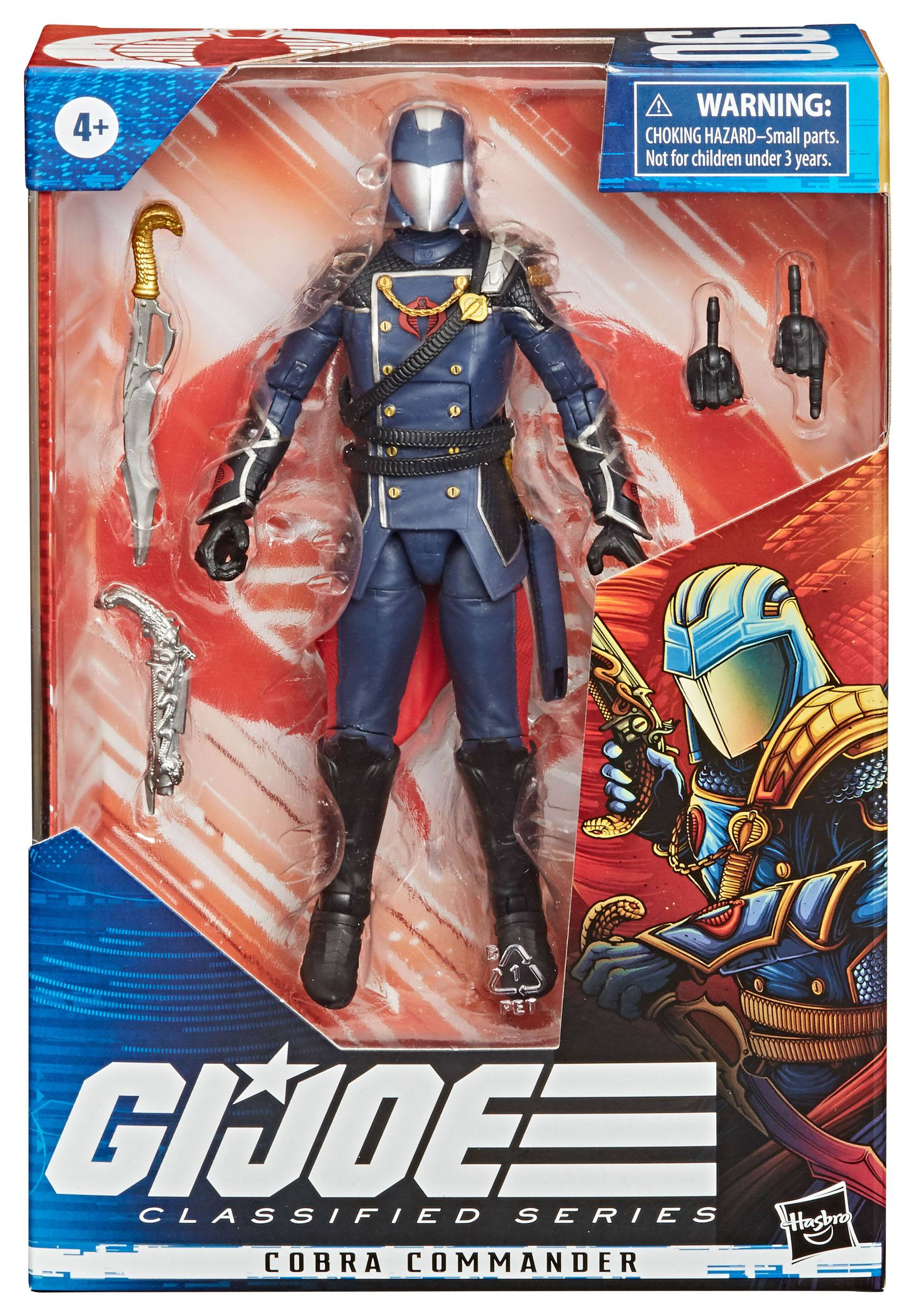 G.I. Joe Classified Series FIGURE COBRA COMMANDER 15cm