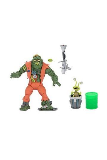 """Teenage Mutant Ninja Turtles (Cartoon) – 7"""" Scale Action Figure – Ultimate Muckman NECA541913 634482541913"""