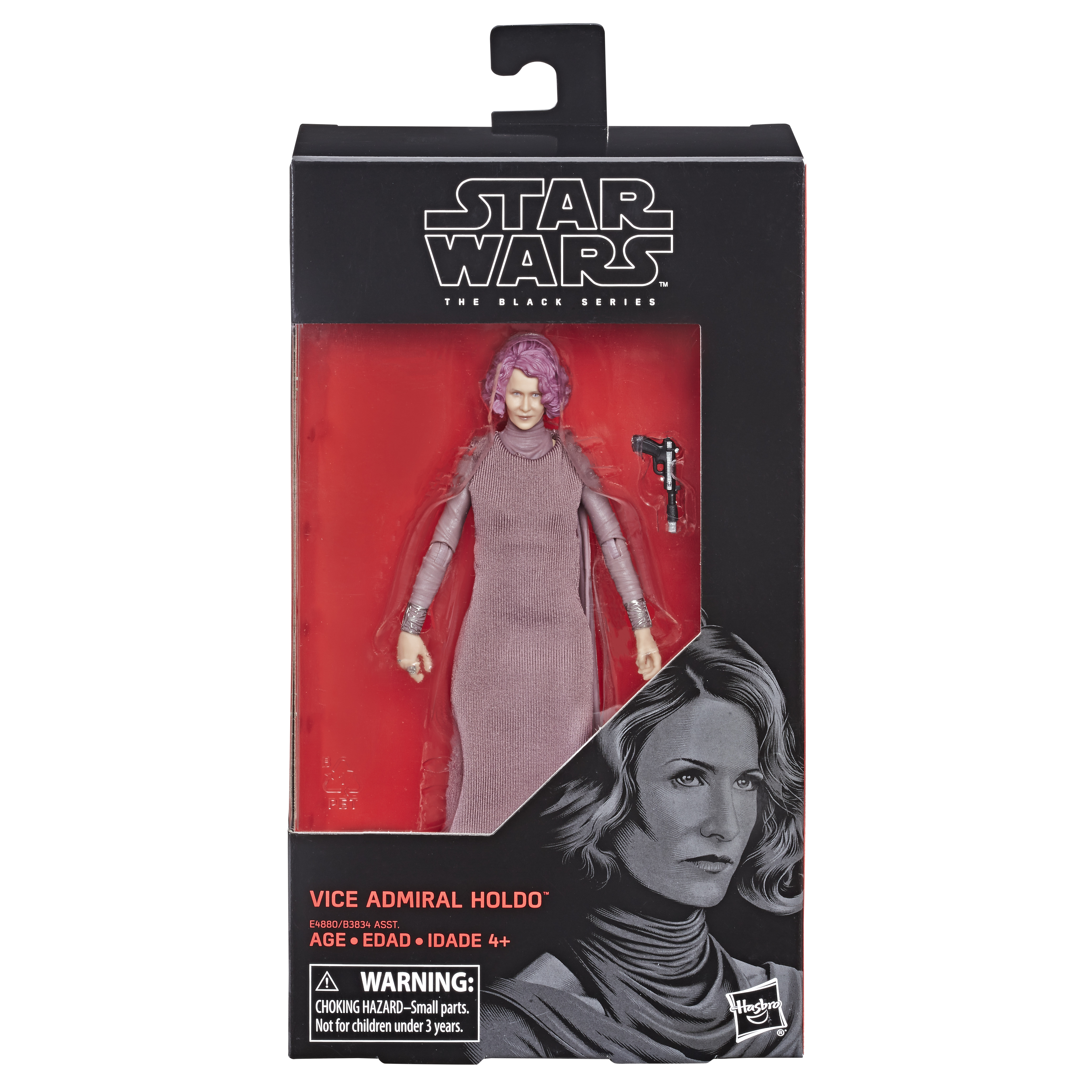 Star Wars The Black Series Vice Admiral Holdo 15cm E4880 5010993568055