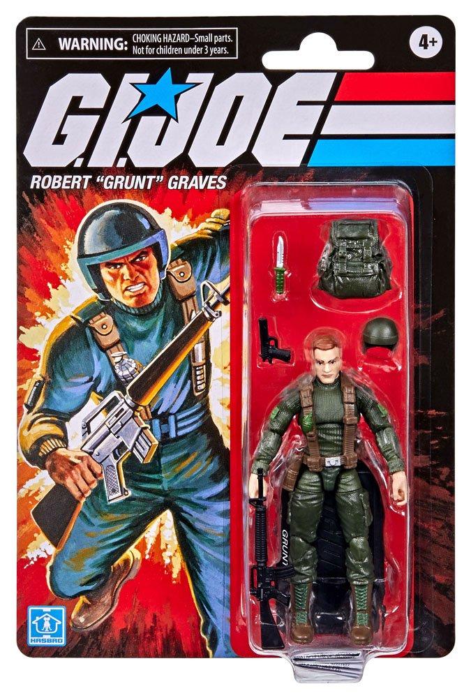 "G.I. Joe Retro Collection Series Robert ""Grunt"" Graves F2727 5010993852741"