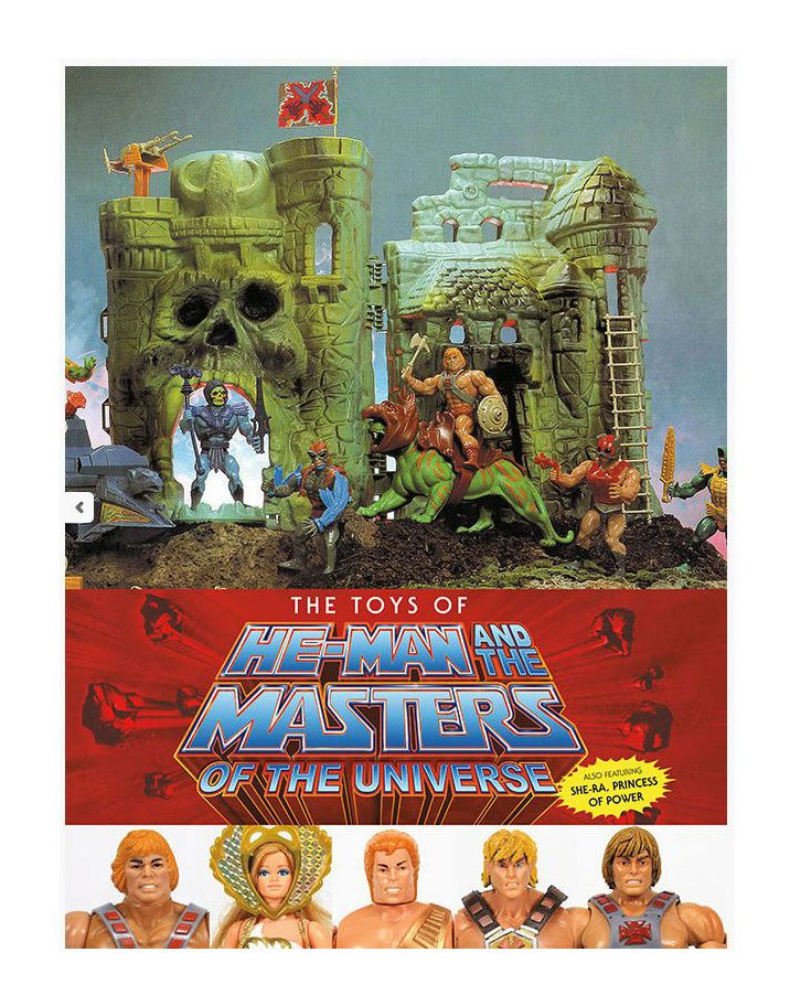 Masters of the Universe Artbook The Toys of He-Man and The Masters of the Universe *Englische Ver.* DAHO3005-469 9781506720470