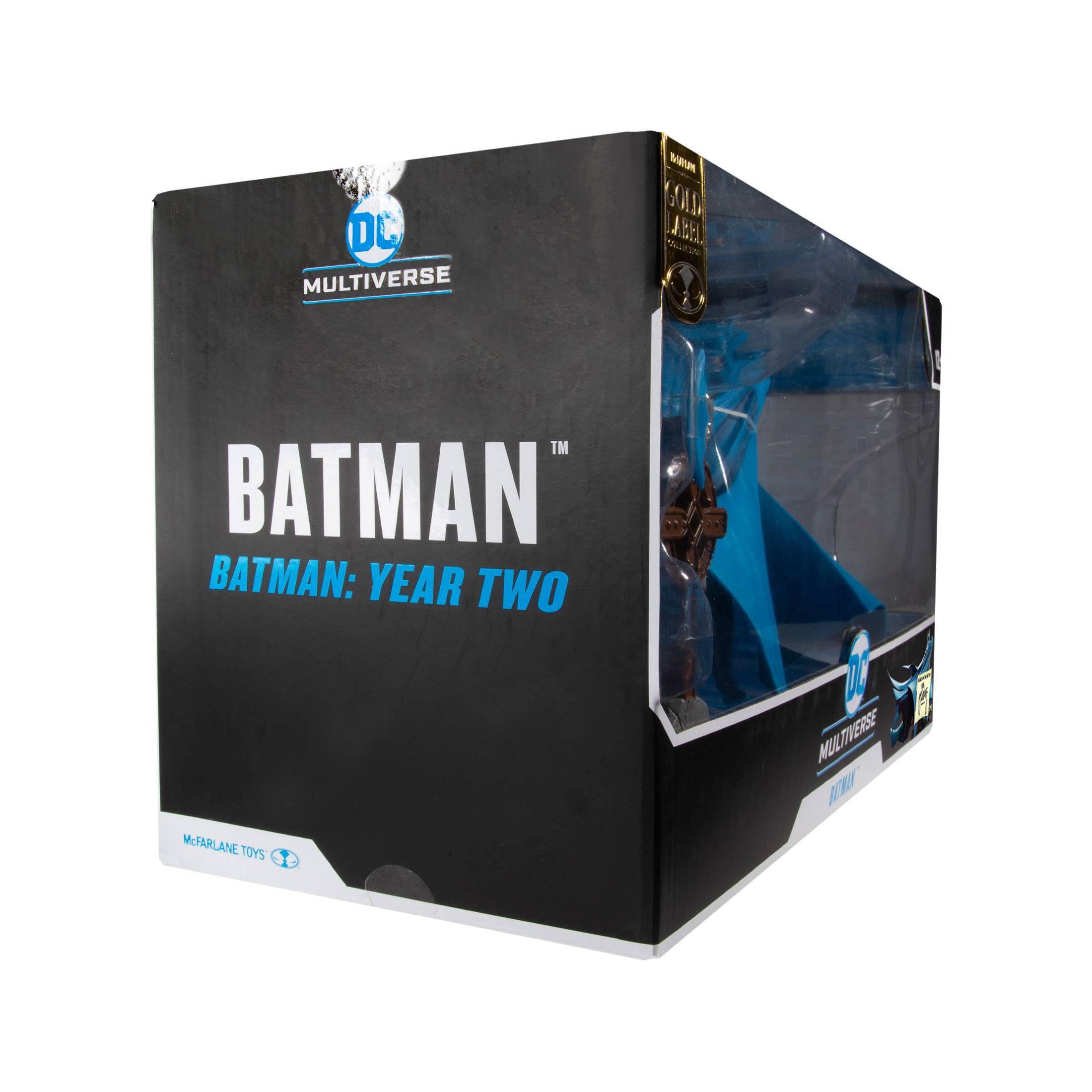 DC Multiverse Actionfigur Batman Year Two (Gold Label) 18 cm MCF15140 787926151404