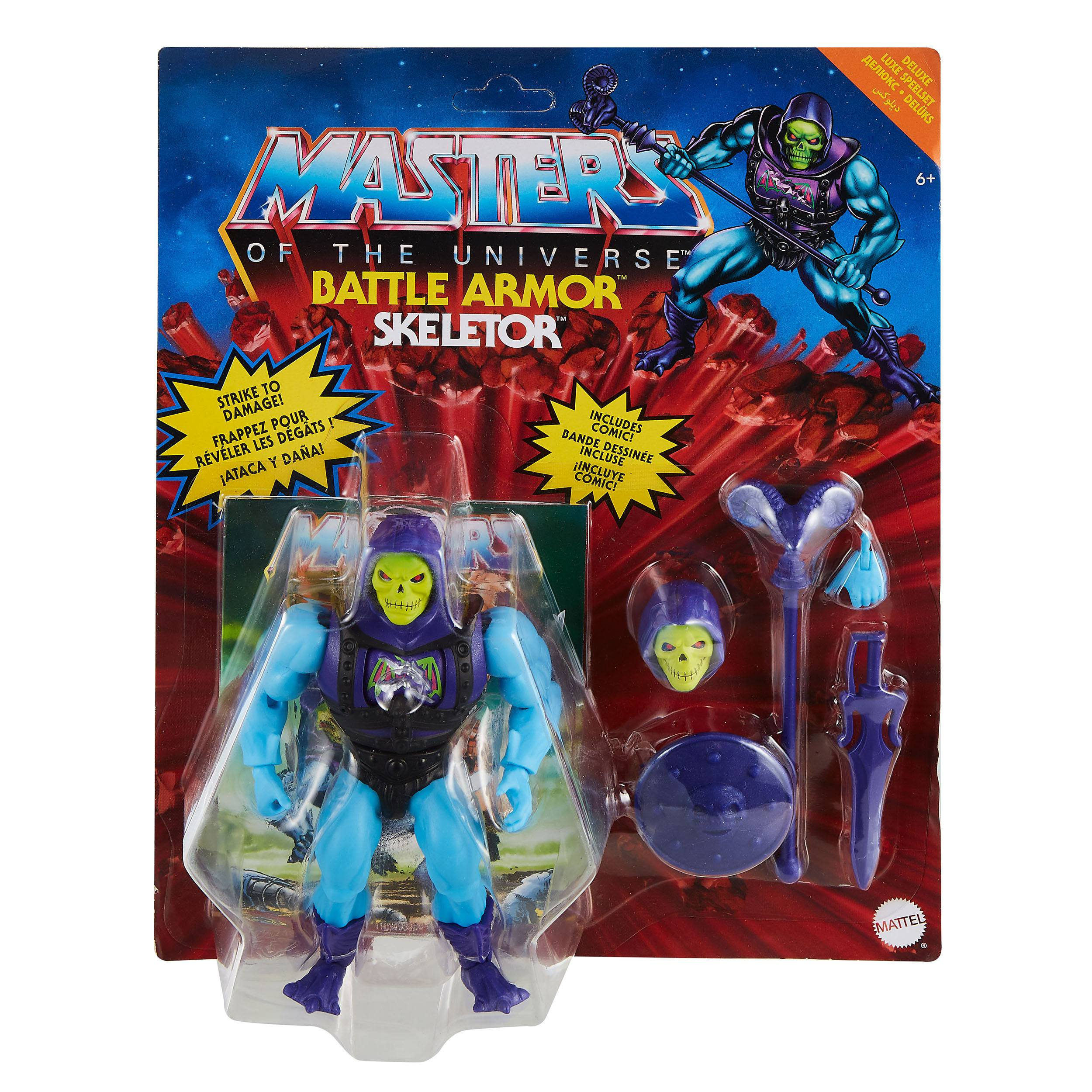 Masters of the Universe Deluxe Actionfigur 2021 Skeletor 14 cm MATTGVL77 887961929614