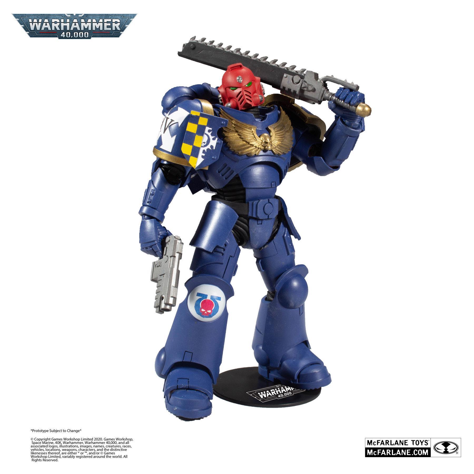 Warhammer 40k Actionfigur Space Marine 18 cm MCF10912-2 787926109122