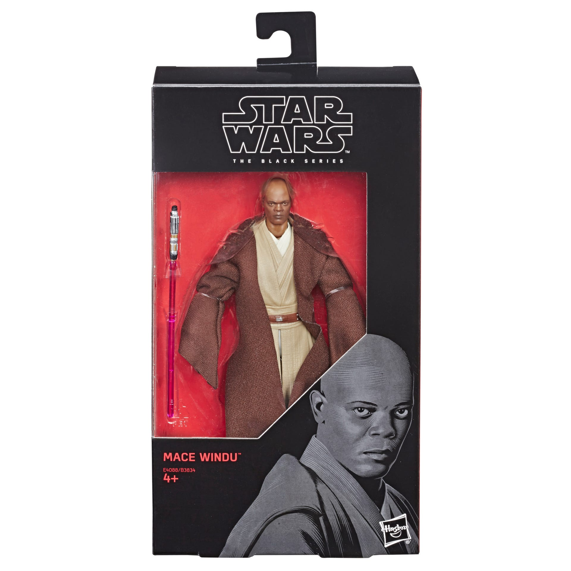 Star Wars The Black Series Star Wars The Black Series 6-inch Mace Windu Figure E4088ES00 5010993568062