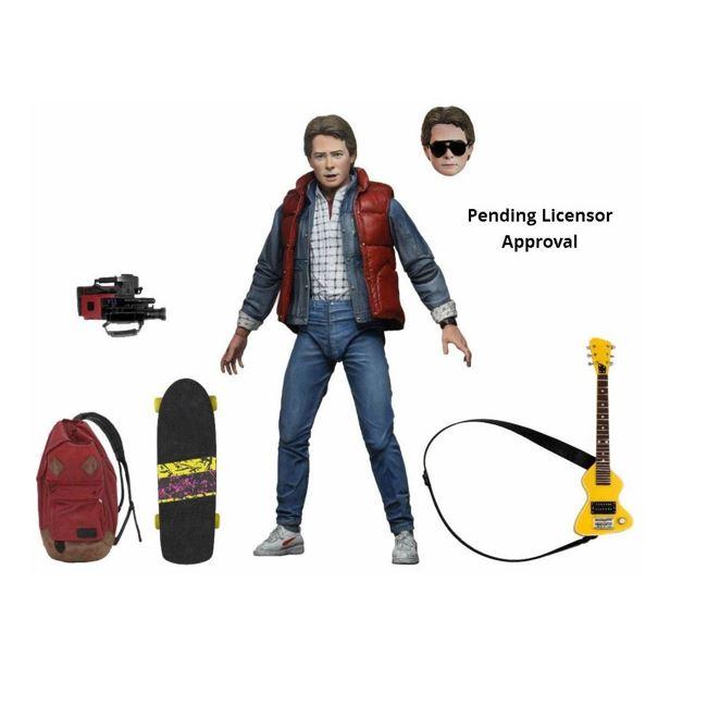 Zurück in die Zukunft Actionfigur Ultimate Marty McFly 18 cm NECA53600 634482536001