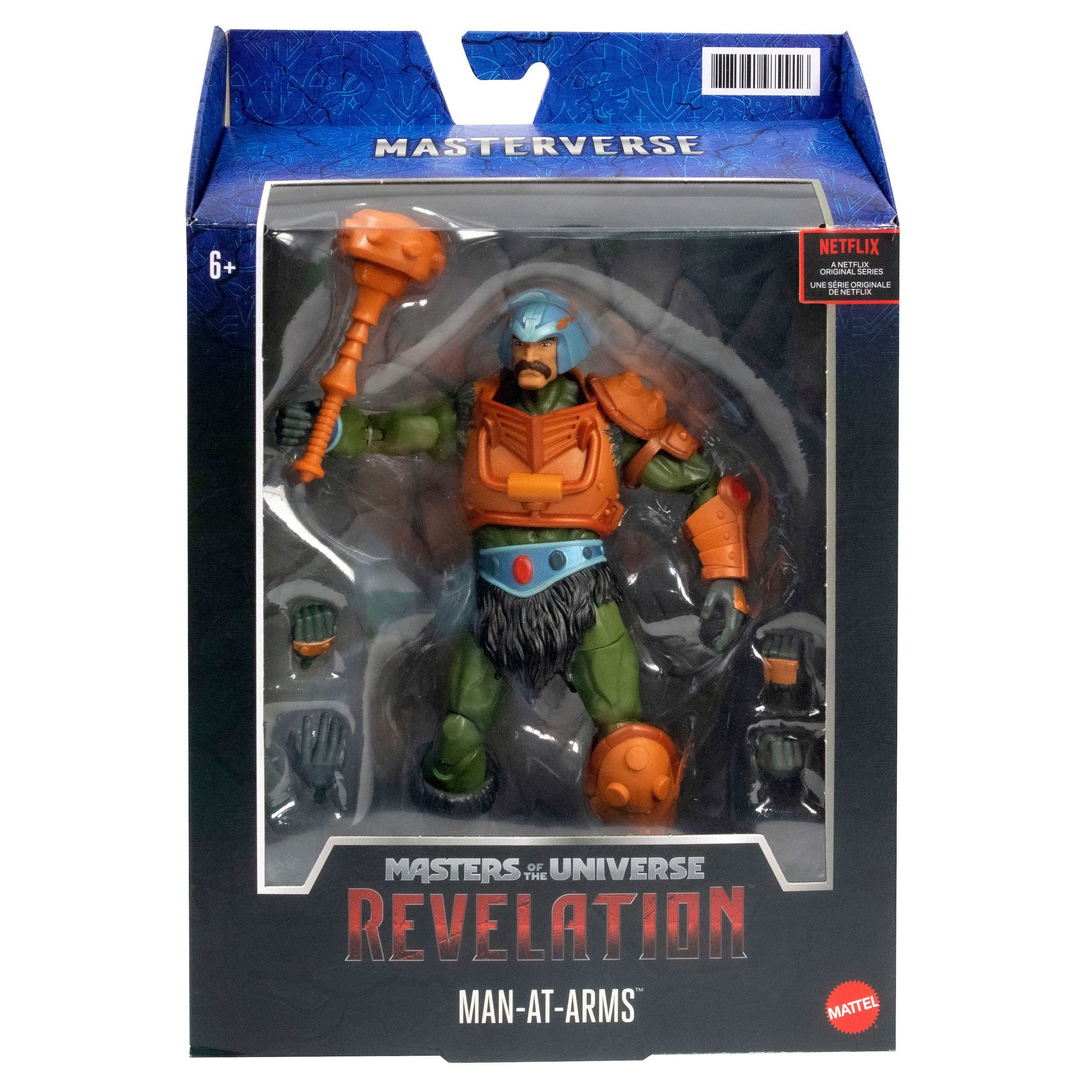 Masters of the Universe: Revelation Masterverse Actionfigur 2021 Man-At-Arms 18 cm MATTGYV13 0887961979916