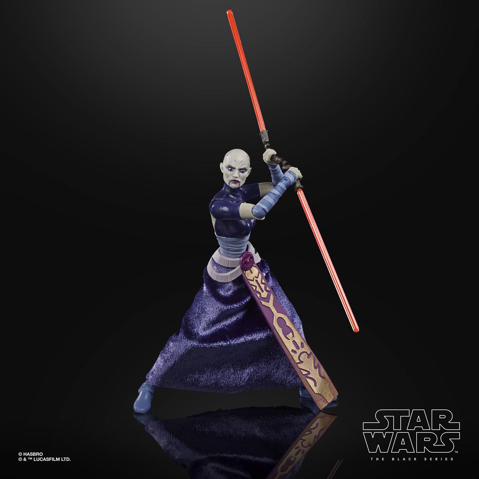 Star Wars The Black Series Asajj Ventress (The Clone Wars) 15cm Actionfigur F1861 5010993813391