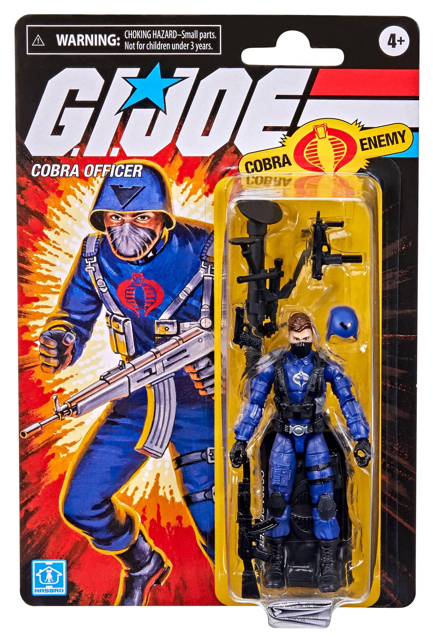 G.I. Joe Retro Collection Series Cobra Officer F2726 5010993852758
