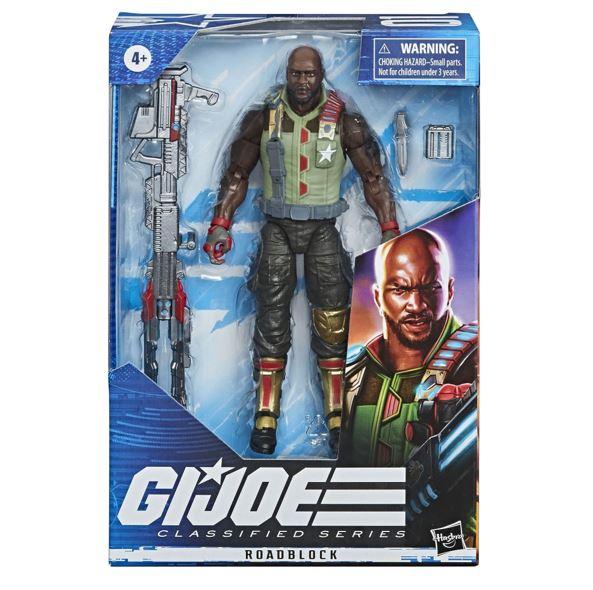 G.I. Joe Classified Series Roadblock 15cm Actionfigur E8491 5010993662388