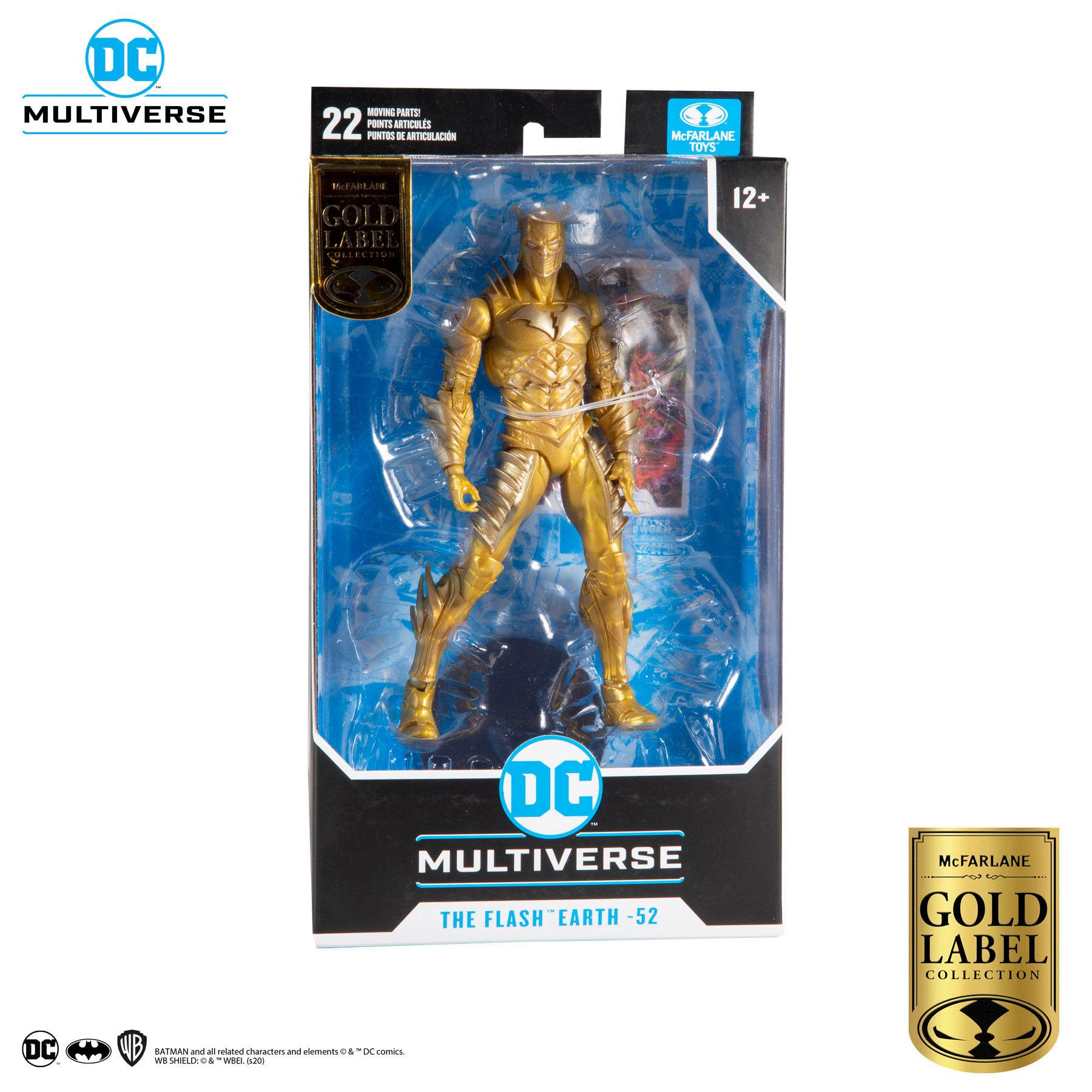 DC Multiverse Actionfigur Red Death Gold (Earth 52) (Gold Label Series) 18 cm MCF15151-0 787926151510