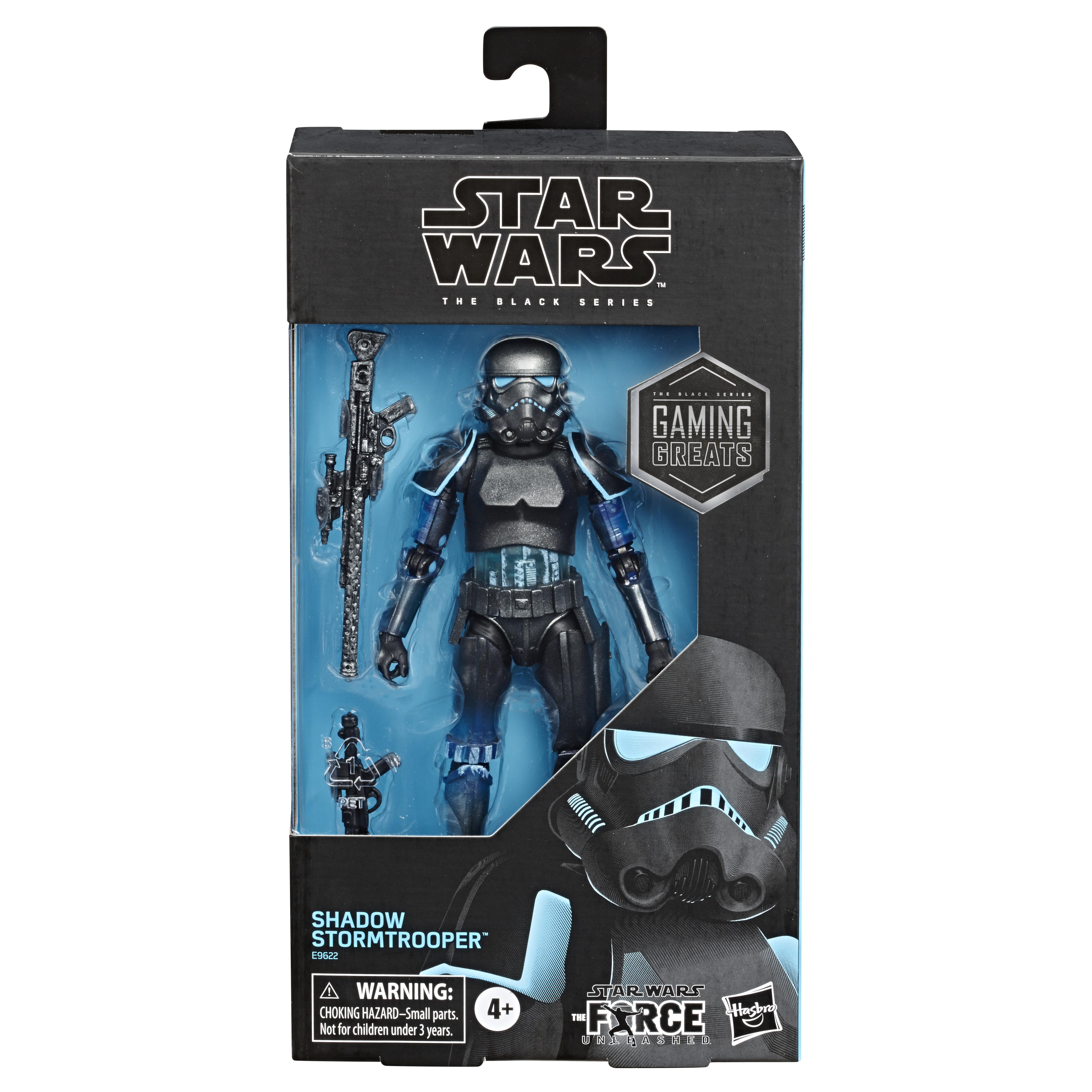 "Star Wars The Black Series Shadow Stormtrooper Action Figure 6"" Reihe E9622 5010993689620"