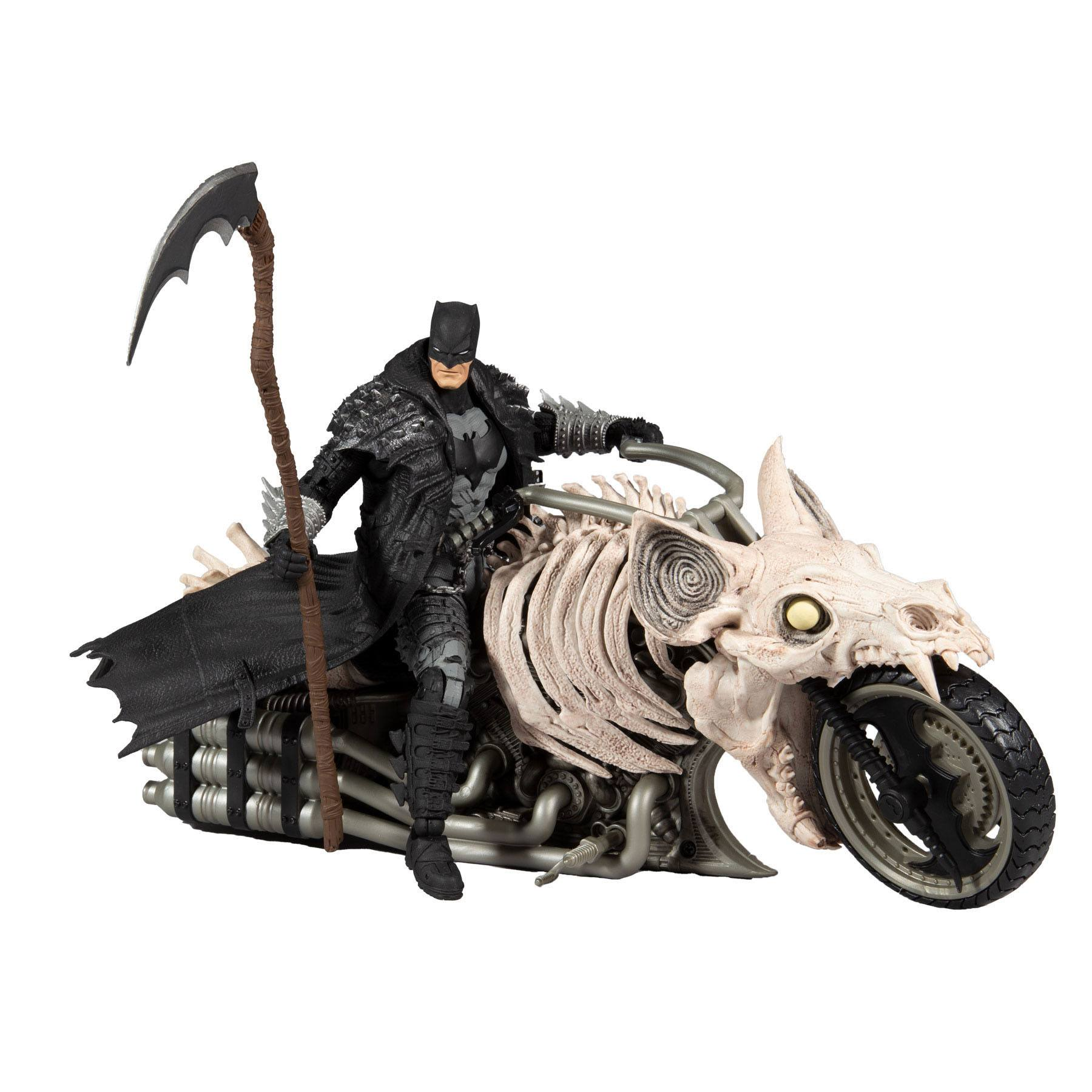 DC Multiverse Fahrzeug Batcycle (Dark Nights: Death Metal) MCF15705-5 787926157055