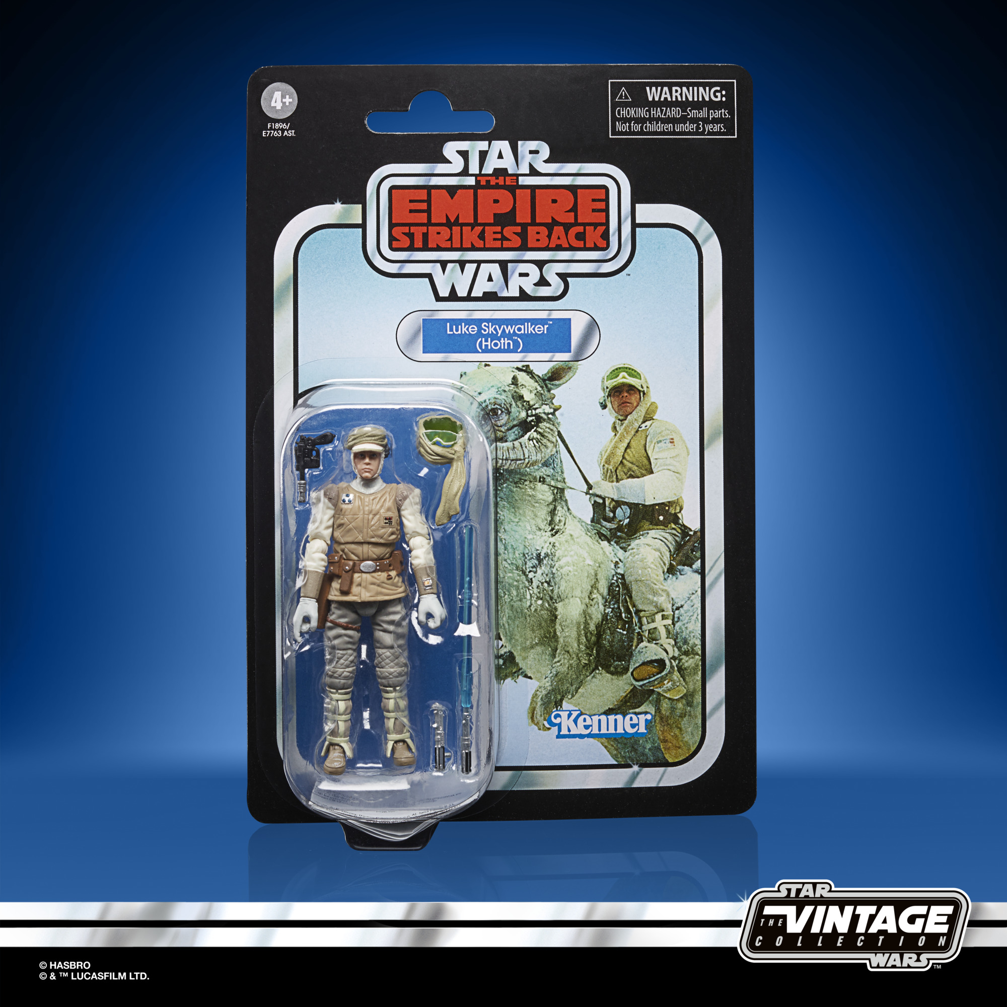 Star Wars The Vintage Collection Luke Skywalker Hoth 3 3/4-Inch Action Figure F1896 5010993860678