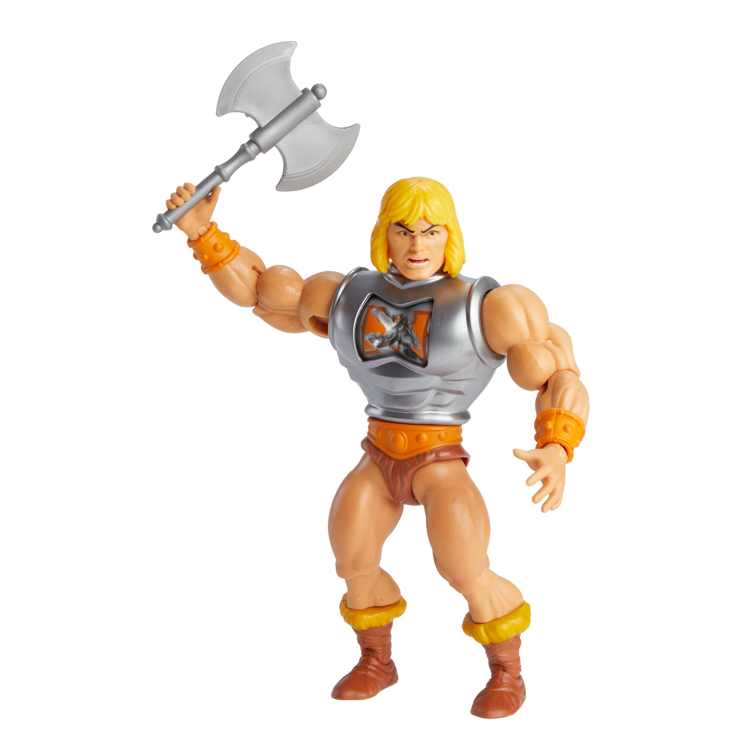 Masters of the Universe Deluxe Actionfigur 2021 He-Man 14 cm MATTGVL76 887961929652