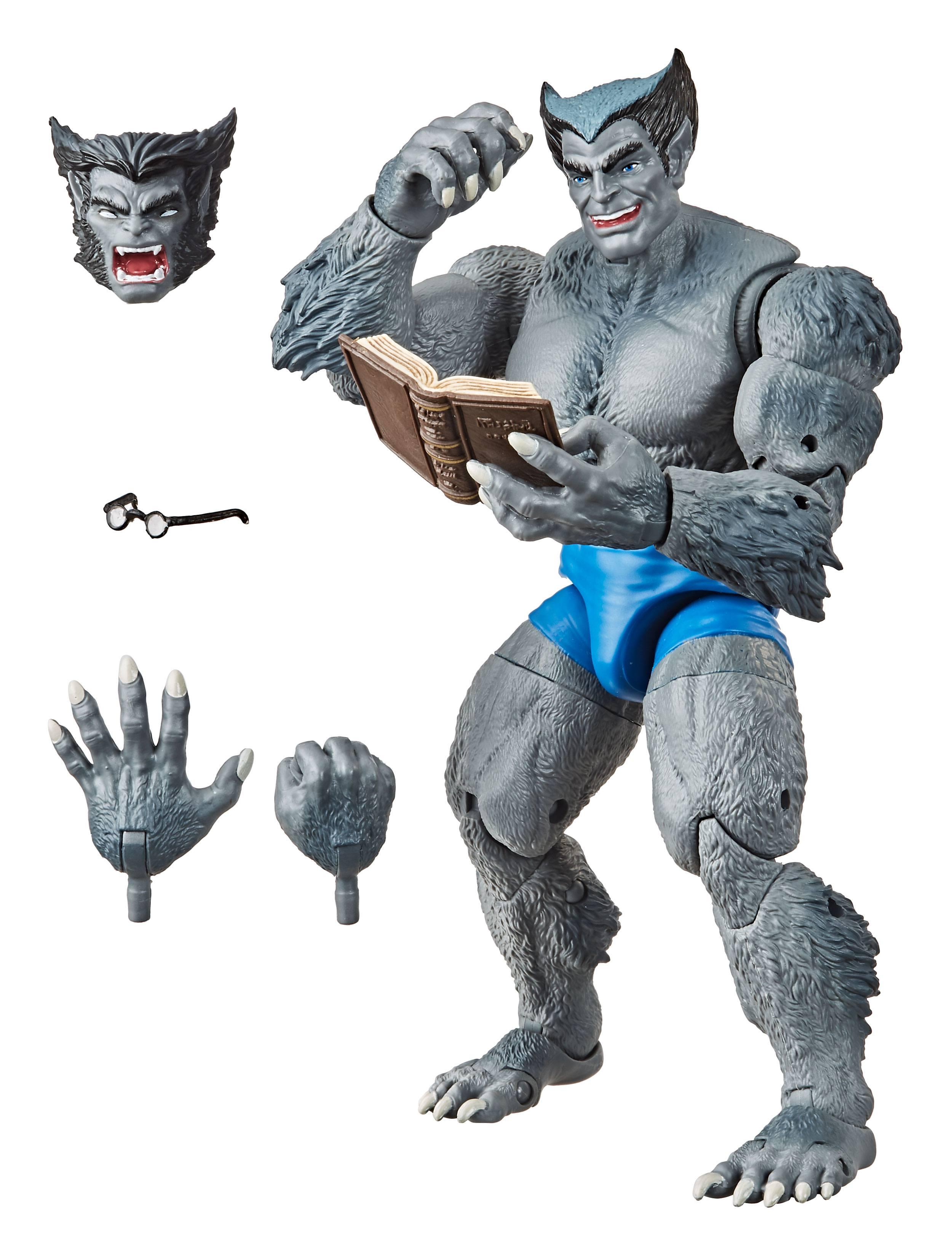 The Uncanny X-Men Marvel Retro Collection Actionfigur Marvel's Beast 15 cm E9659 5010993727230