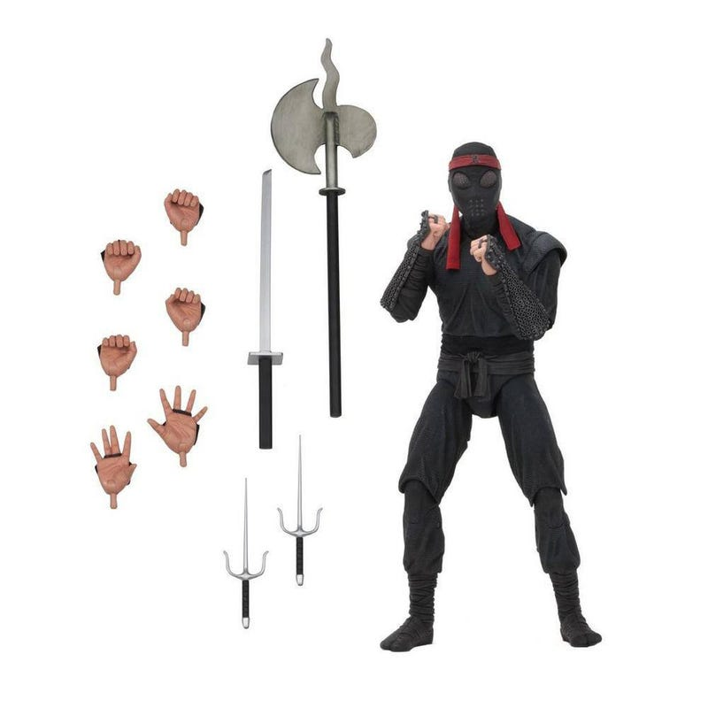 Teenage Mutant Ninja Turtles - Foot Solider (bladed weaponry) Action Figure 18cm  634482541111