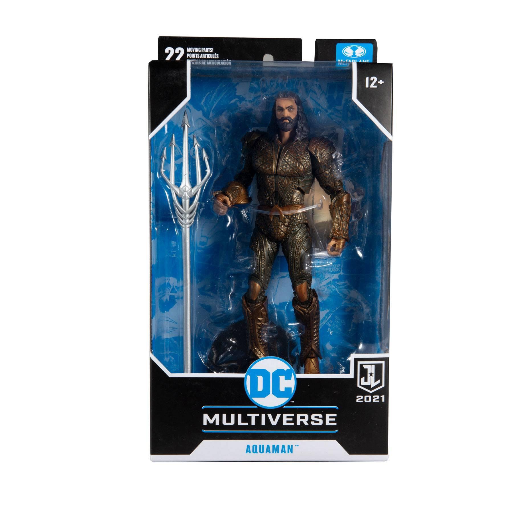 DC Justice League Movie Actionfigur Aquaman 18 cm MCF15091-9 787926150919