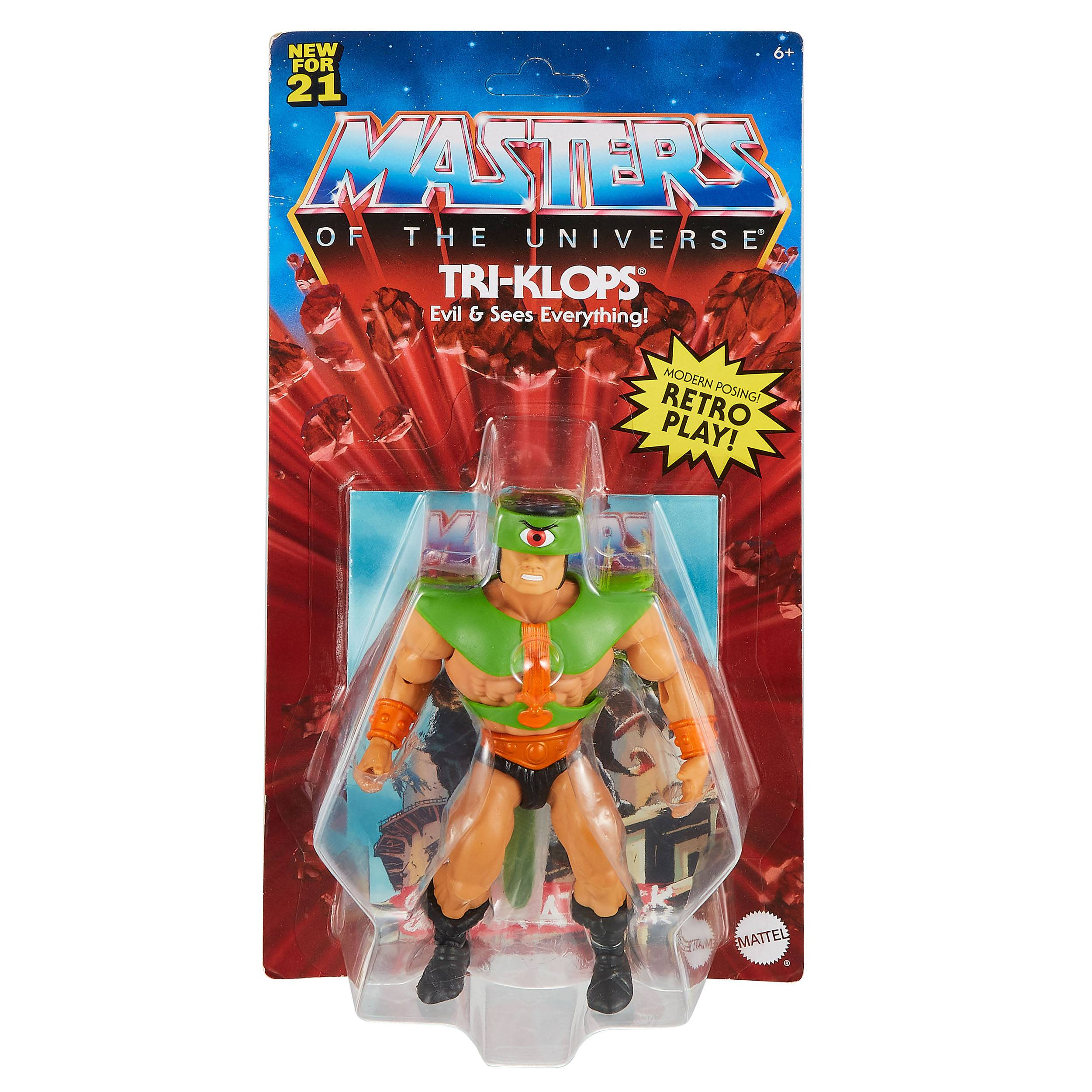 Masters of the Universe Origins Actionfigur 2021 Triclops 14 cm (EU Karte) MATTGRX02 887961913392