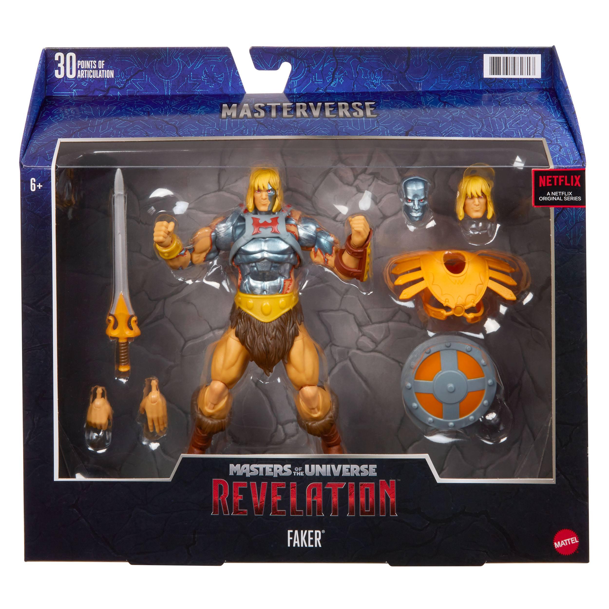 Masters of the Universe: Revelation Masterverse Actionfigur 2021 Faker 18 cm MATTGYY37 0887961982817