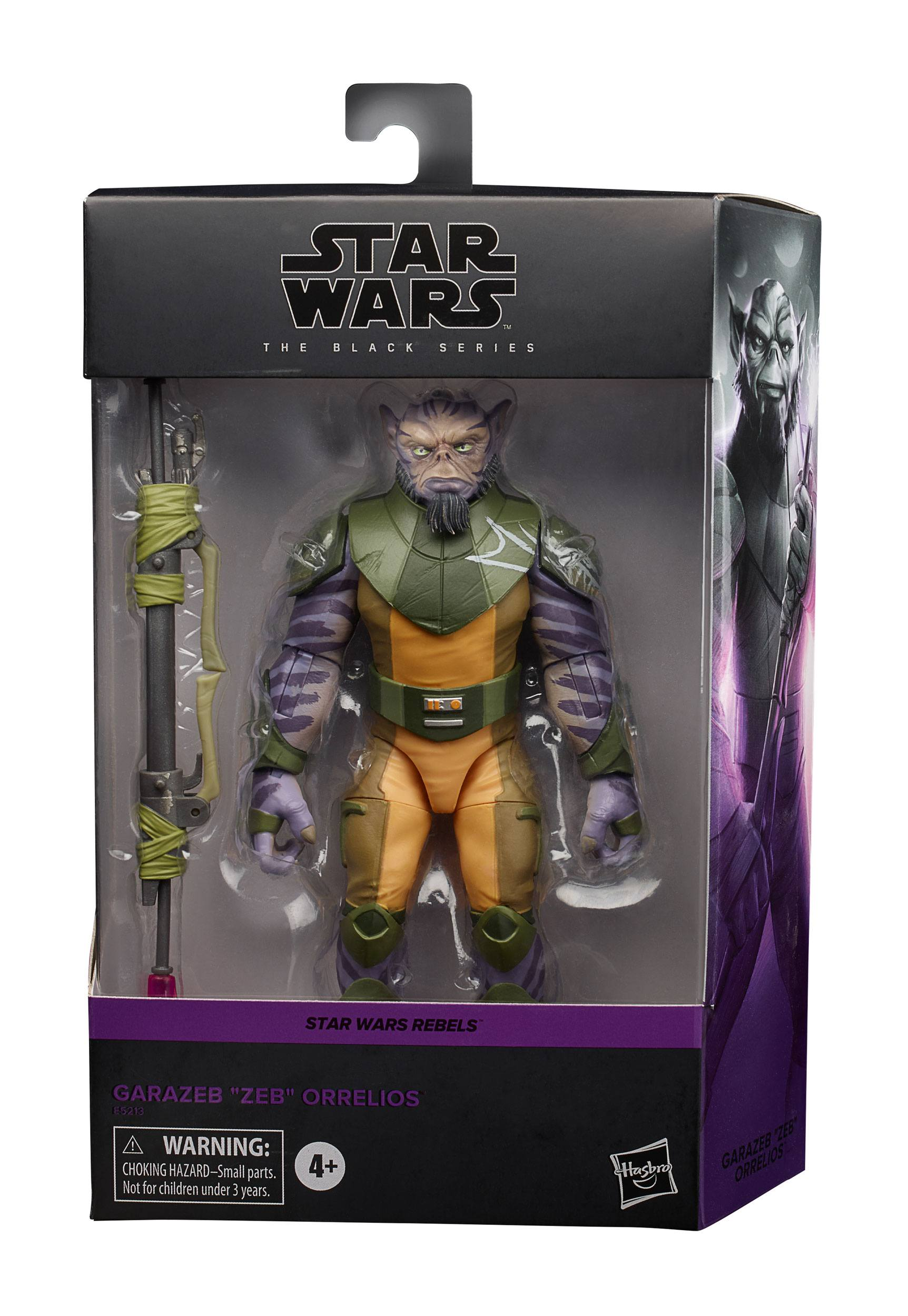 Star Wars Rebels Black Series Deluxe Actionfigur 2020 Garazeb Zeb Orrelios 15 cm HASE5213 5010993699636