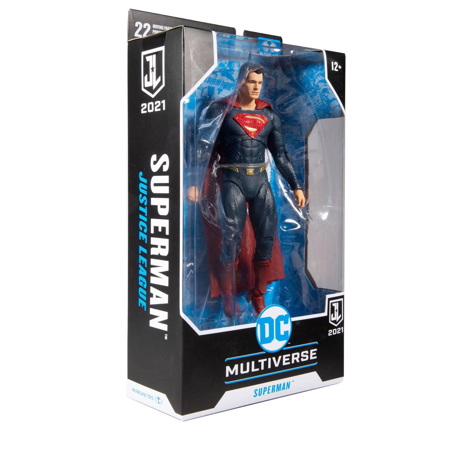 DC Justice League Movie Actionfigur Superman (Blue/Red Suit) 18 cm MCF15102-2 787926151022
