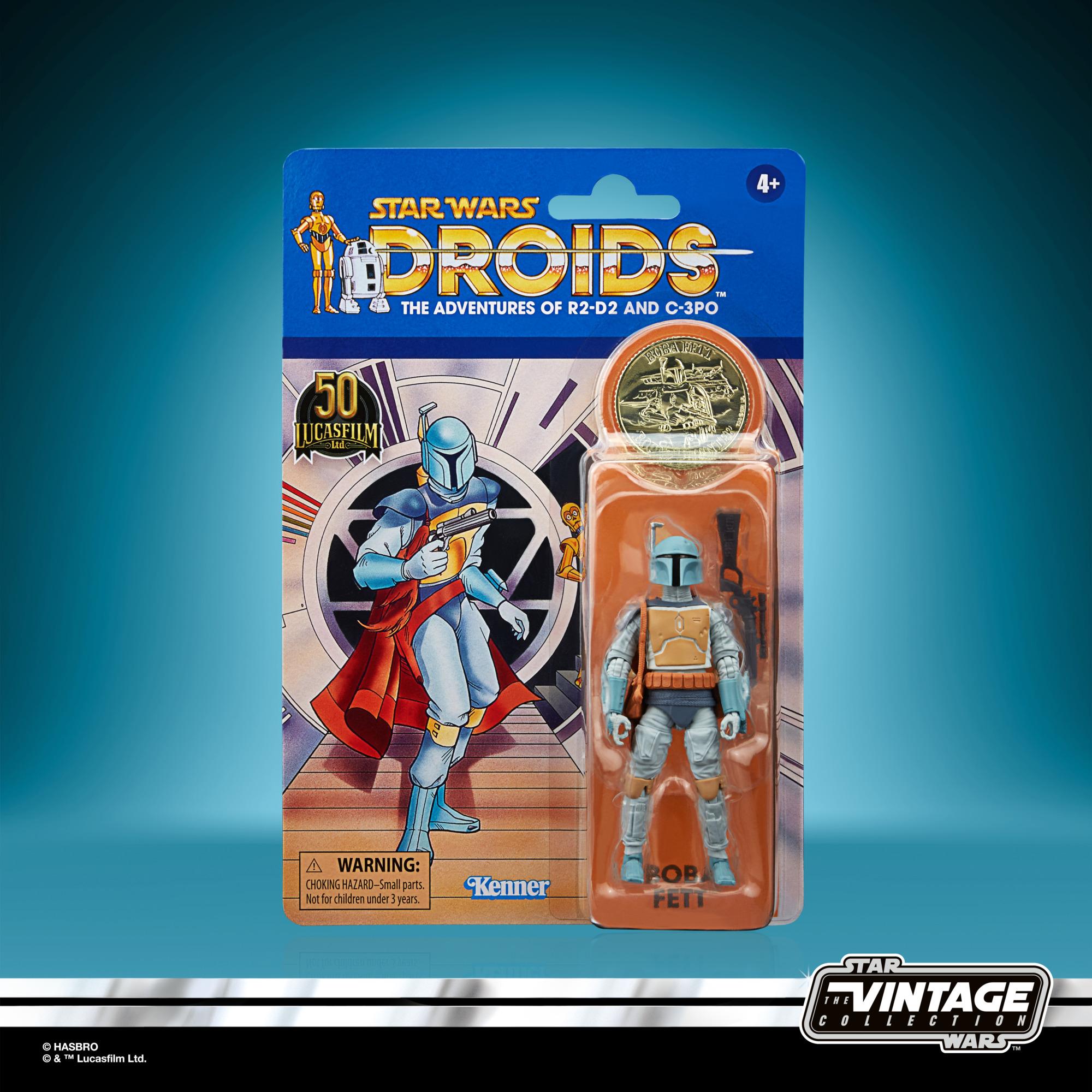 Star Wars: Droids Vintage Collection Actionfigur 2021 Boba Fett 10 cm F53125L00 5010993954063