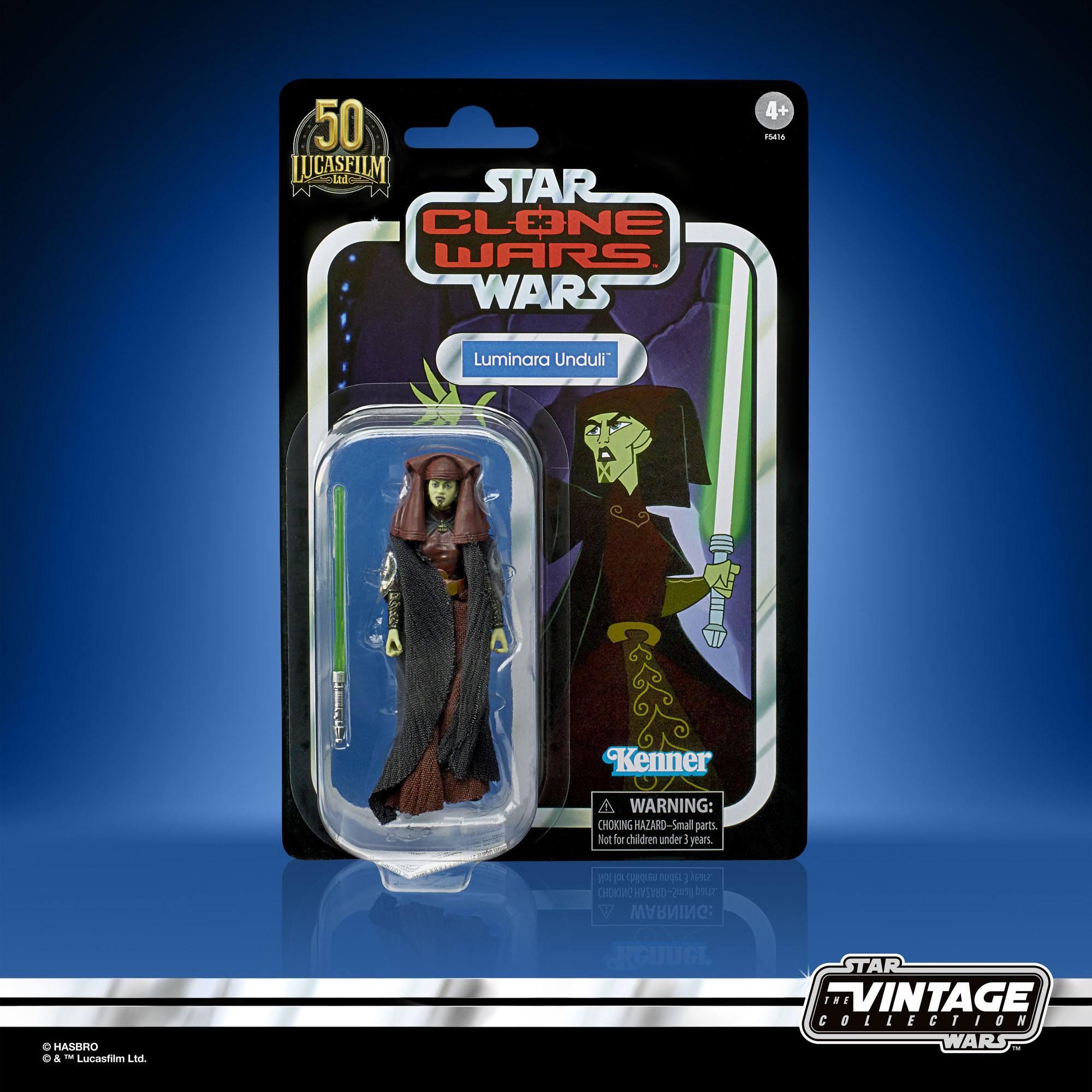 Star Wars The Clone Wars Vintage Collection Actionfigur 2022 Luminara Unduli 10 cm F54165L00