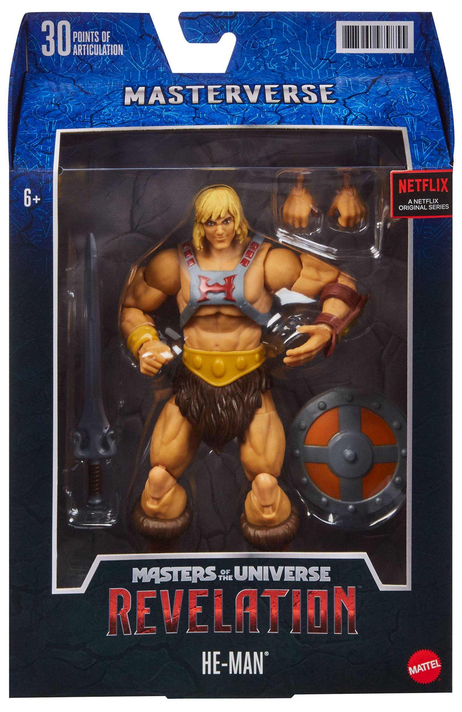 Masters of the Universe: Revelation Masterverse Actionfigur 2021 He-Man 18 cm MATTGYV09 0887961979855
