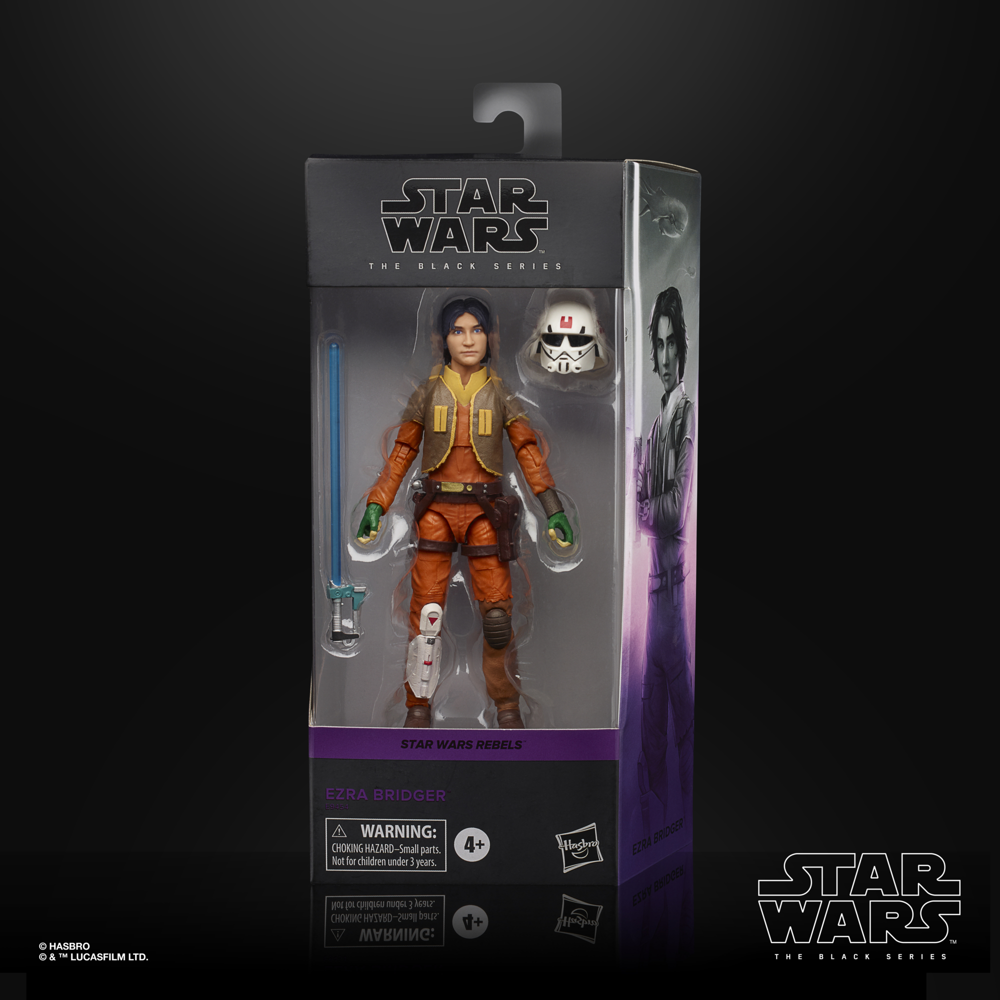 Star Wars The Black Series Ezra Bridger Action Figure 15cm E9452 5010993744138