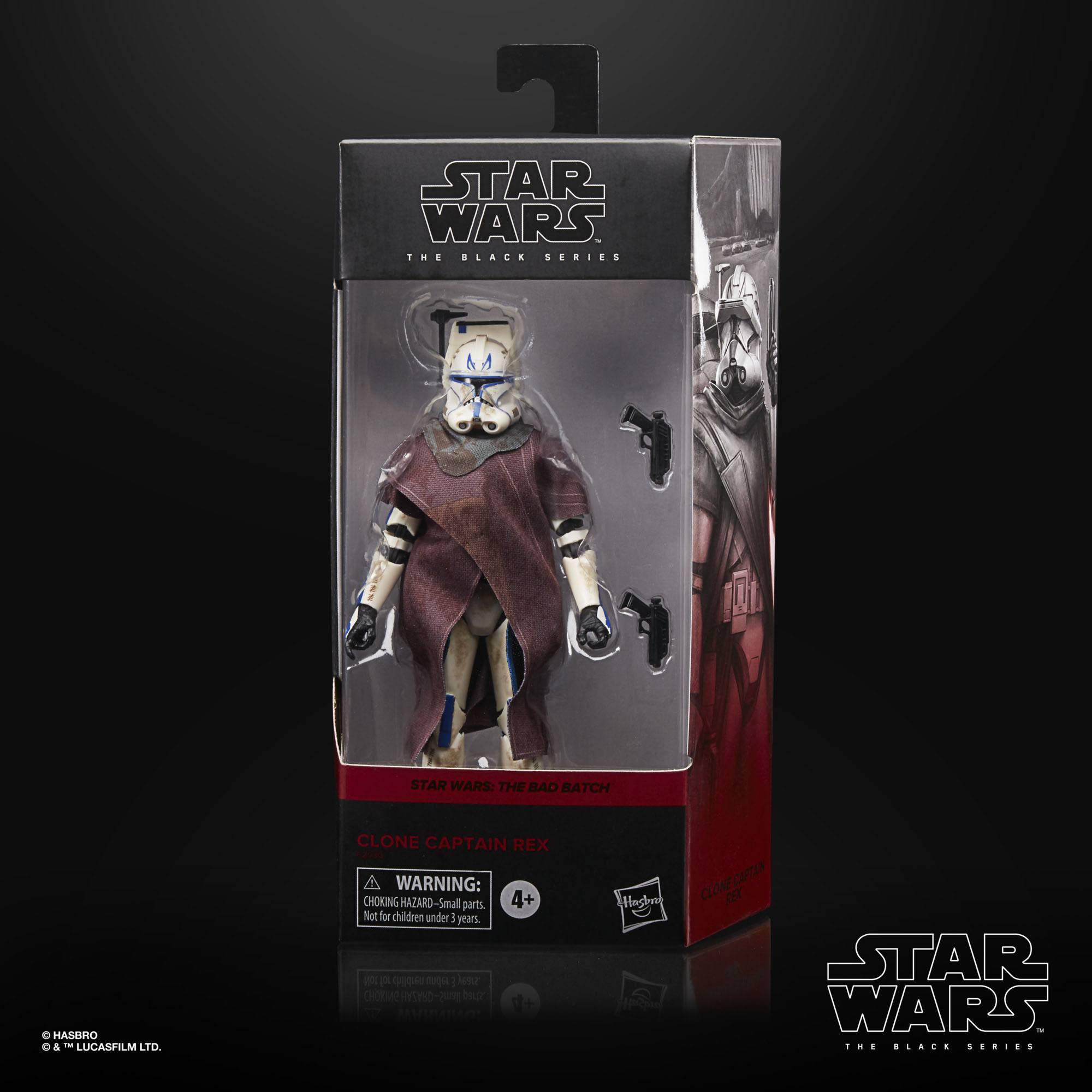 Star Wars The Black Series Clone Captain Rex F29305L00 5010993883684