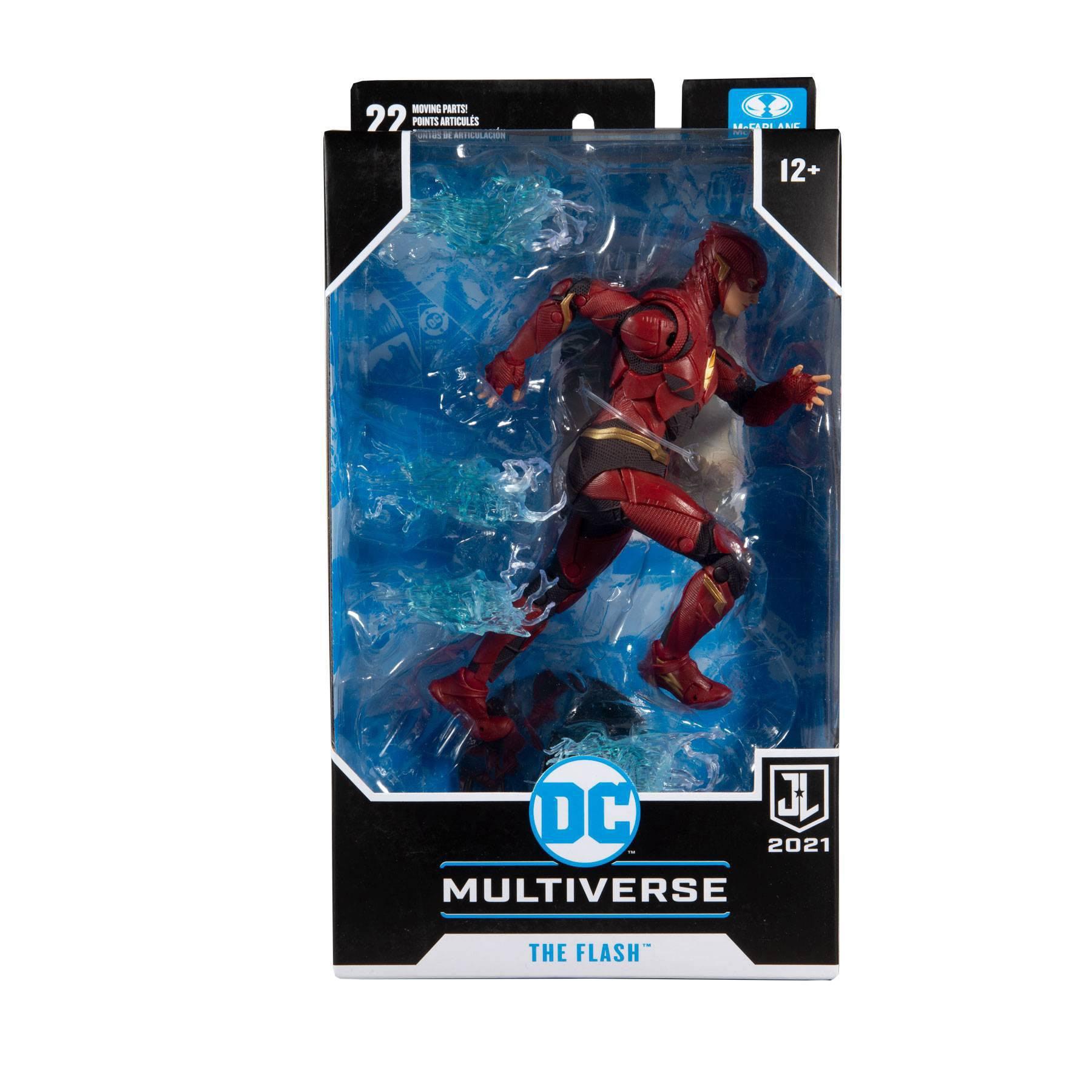 DC Justice League Movie Actionfigur Flash 18 cm MCF15094-0 787926150940