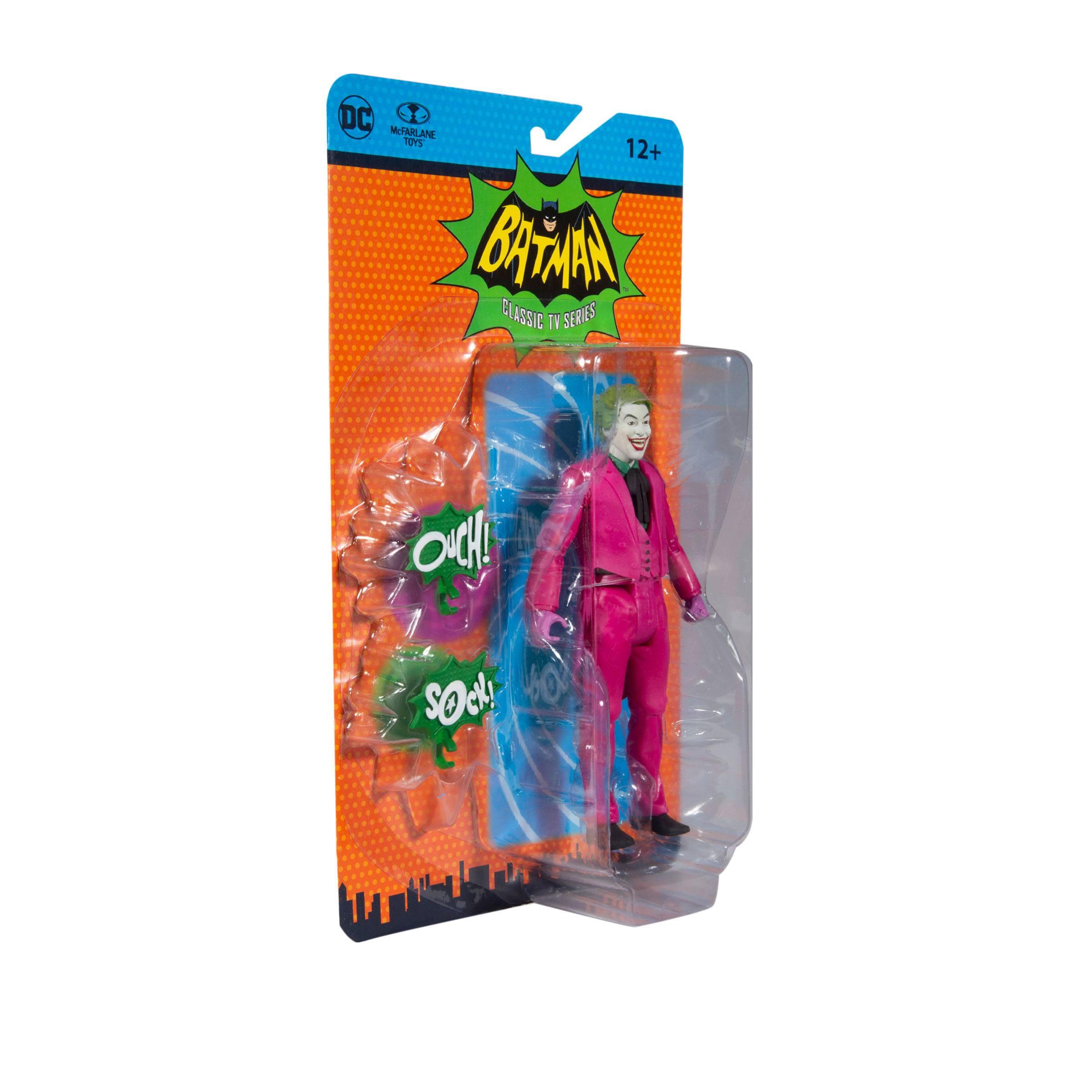 DC Retro Actionfigur Batman 66 The Joker 15 cm MCF15708 787926157086