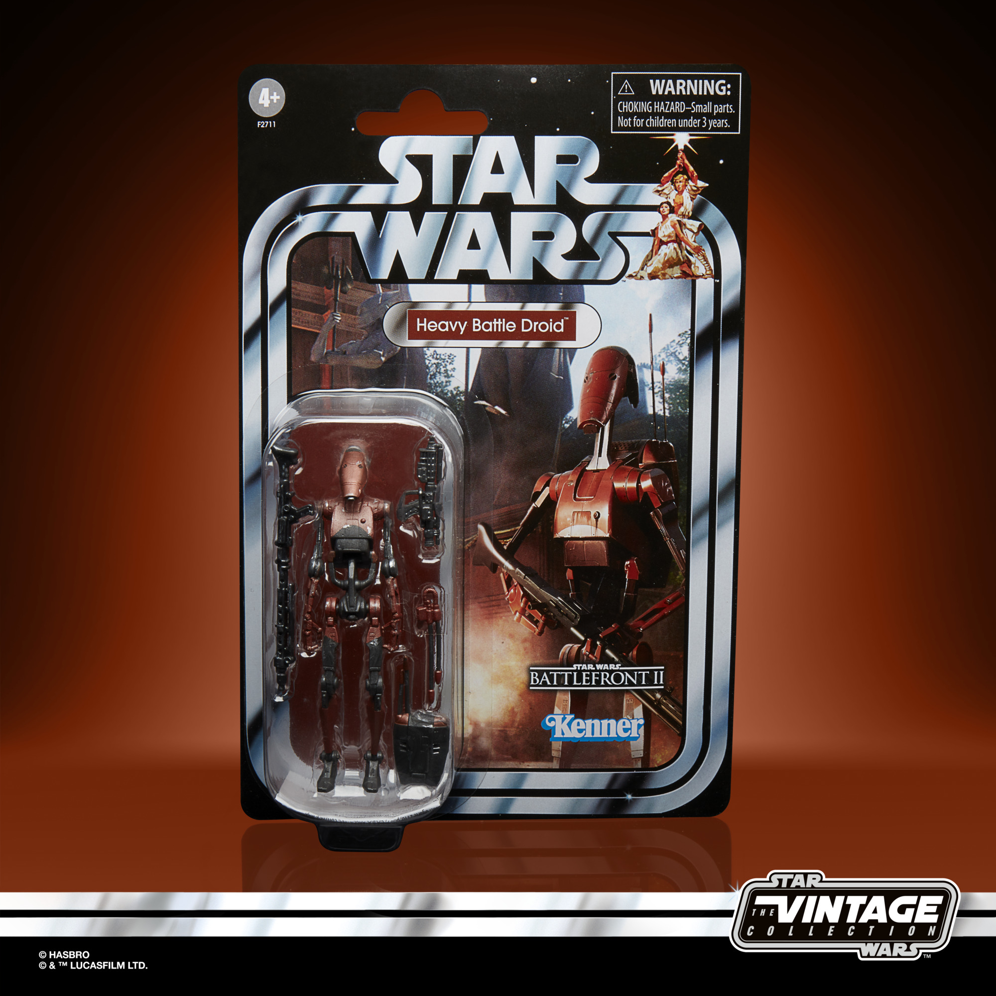 Star Wars The Vintage Collection Heavy Battle Droid Gaming Greats  F2711 5010993866908