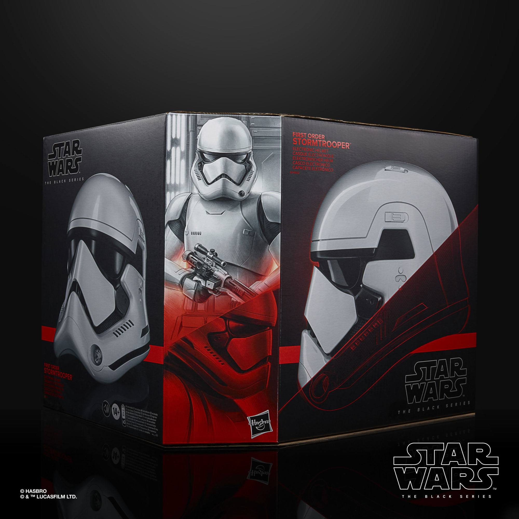 Star Wars Episode VIII Black Series Elektronischer Helm First Order Stormtrooper F00125L00  5010993737093