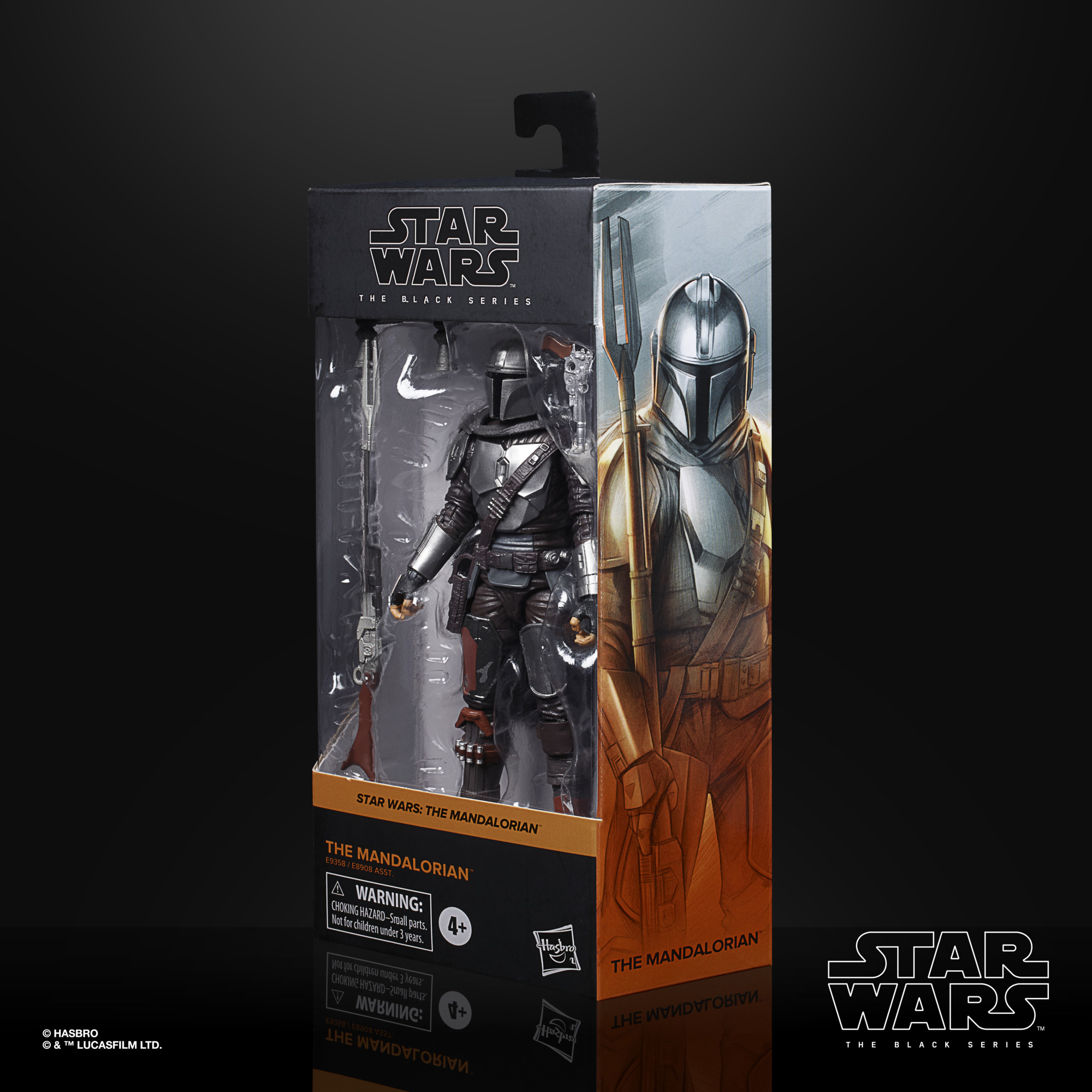 Star Wars The Black Series The Mandalorian (Beskar Armor) 15cm E93585X00 5010993749218