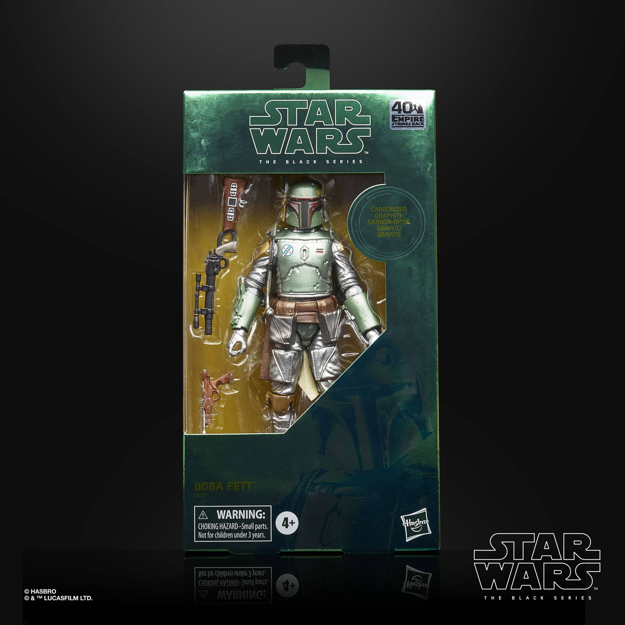 Star Wars Episode V Black Series Carbonized Actionfigur 2020 Boba Fett 15 cm E9927 5010993734450