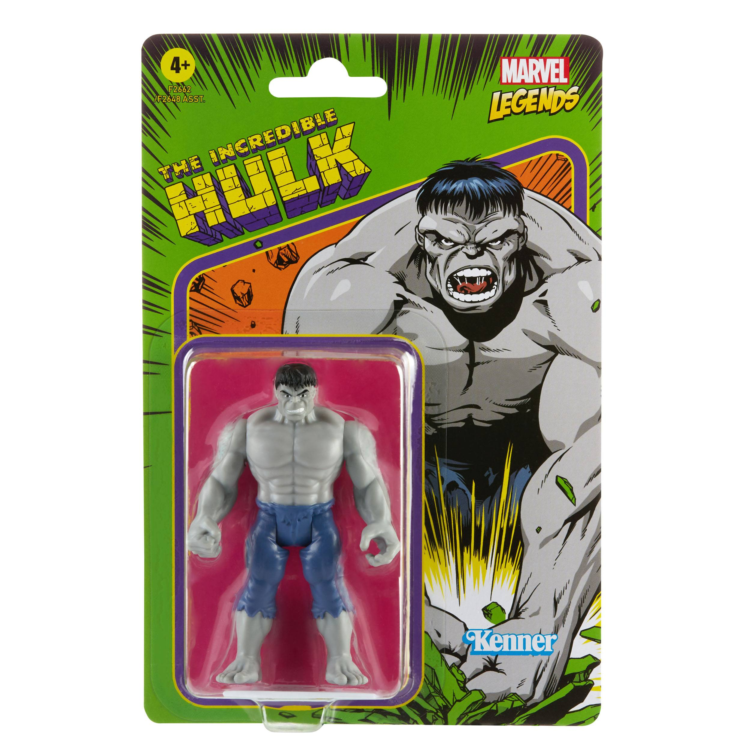 Marvel Legends 3.75-inch Retro 375 Collection The Incredible Hulk  5010993848881