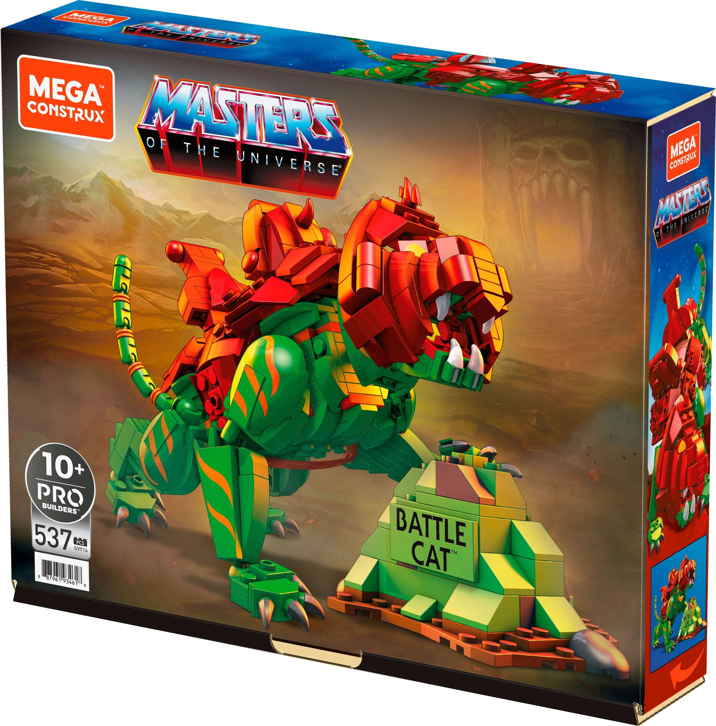 Mega Construx Masters of the Universe Origins Battle Cat GVY14-0 0887961934618