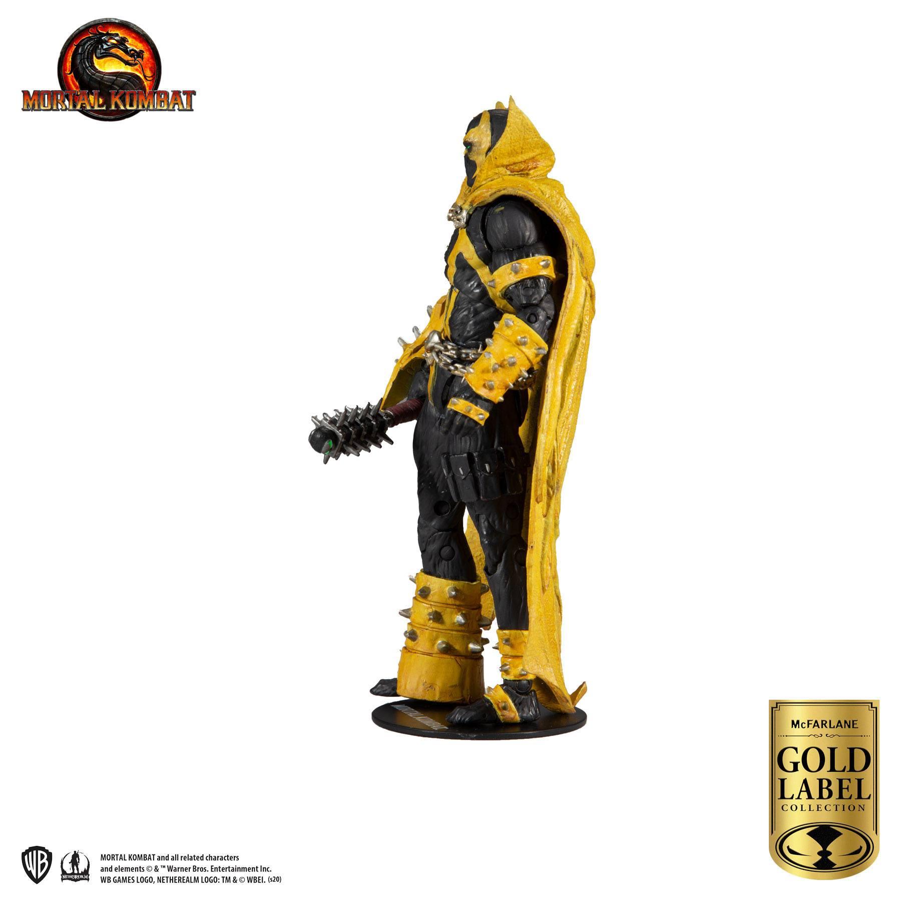Mortal Kombat Actionfigur Spawn (Curse of Apocalypse) (Gold Label Series) 18 cm MCF11026-5 787926110265