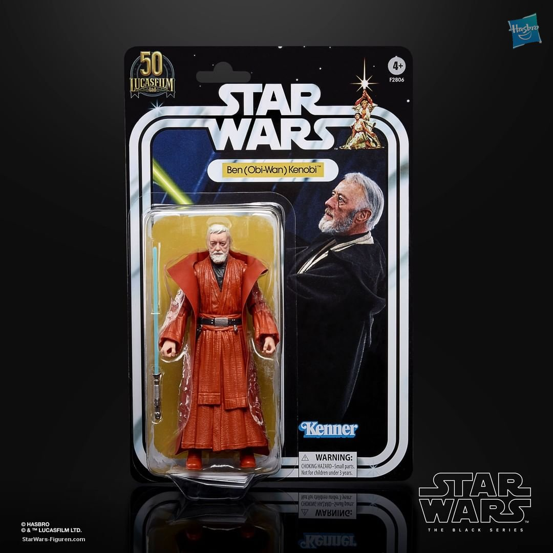 "Star Wars The Black Series Ben (Obi-Wan) Kenobi 6"" Lucasfilm 50th Anniversary  (im Shipper) :-)  F28065S00 05010993869596"